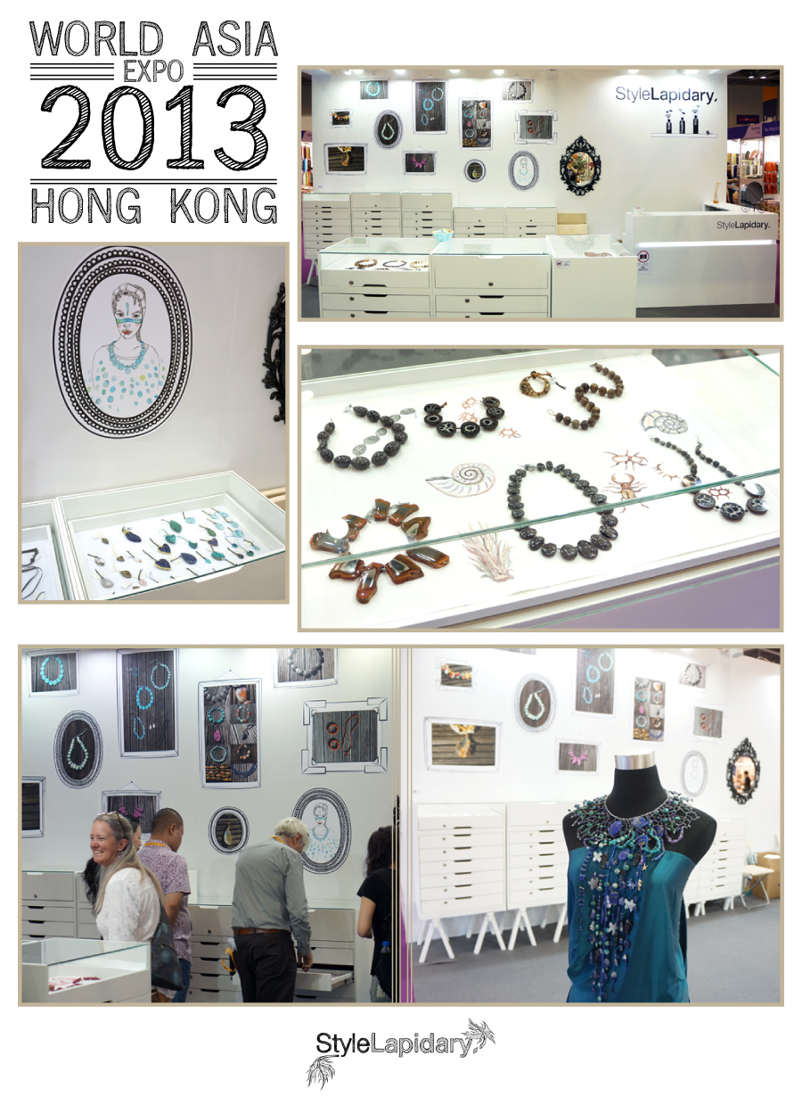 Style Lapidary at Hong Kong Sept jewellery show