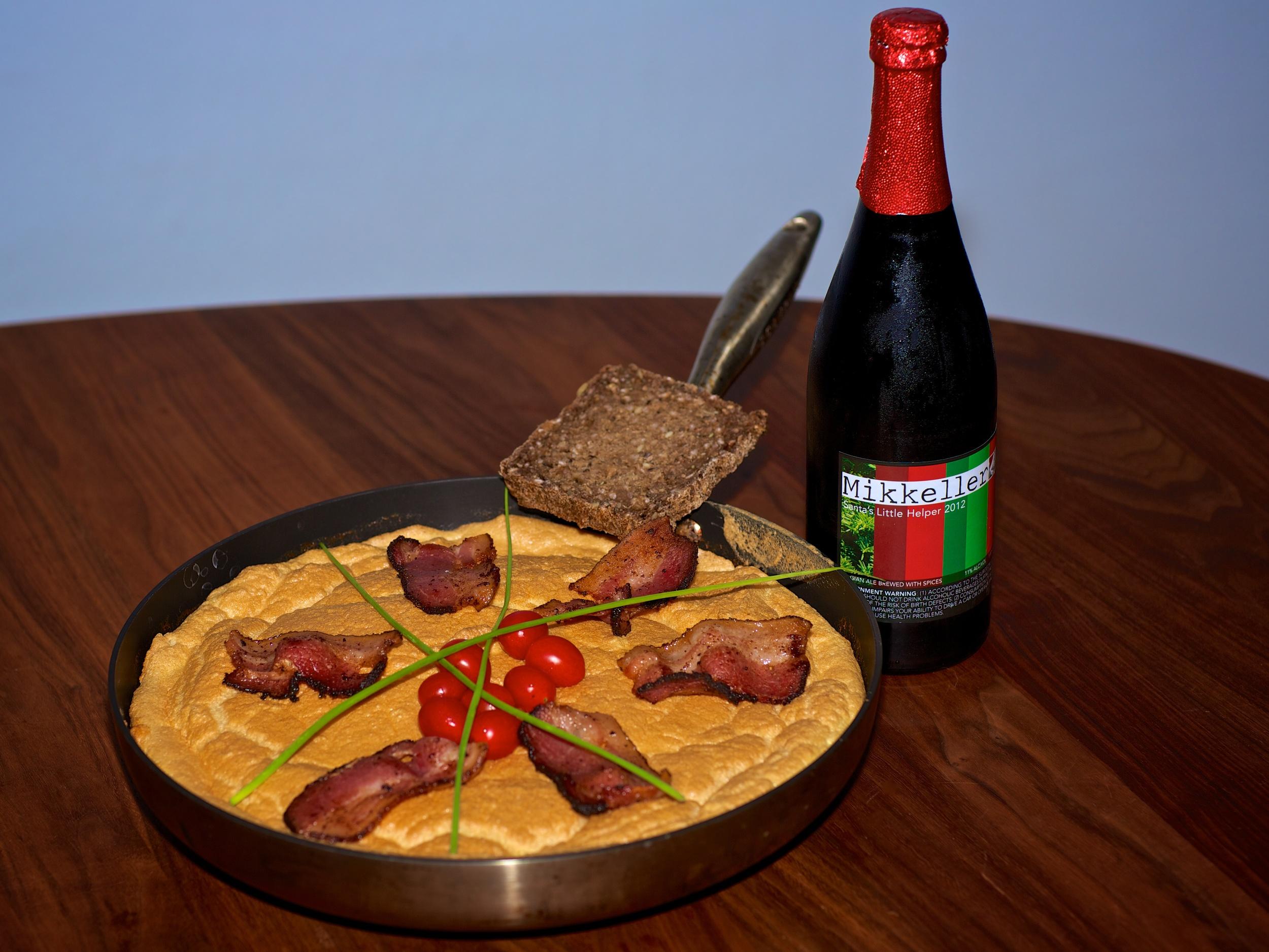 Danish Baked Omelette.