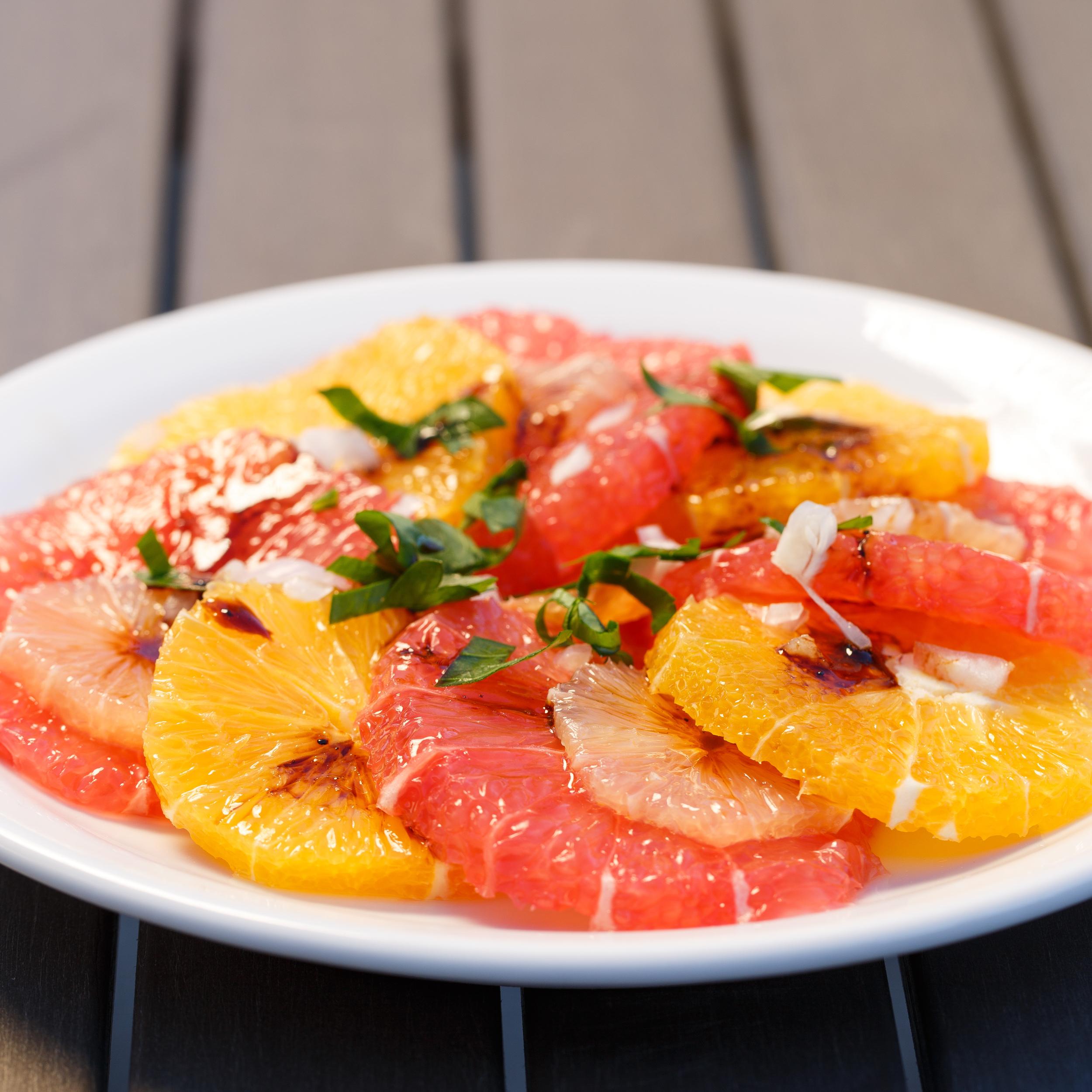 Citrus Salad with Liquorice Vinaigrette