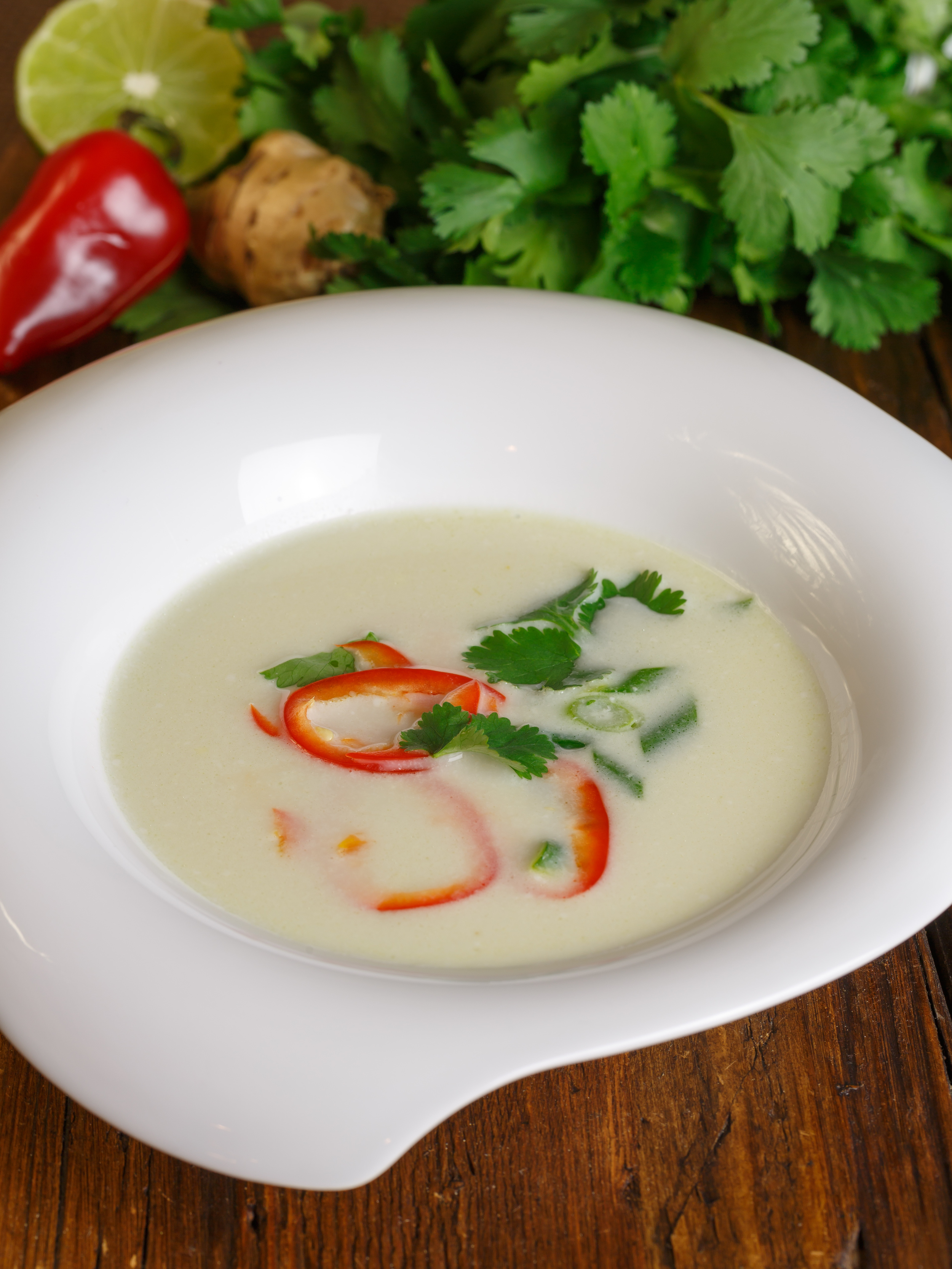 Tom Ka Gai - Coconut Chicken Soup my way