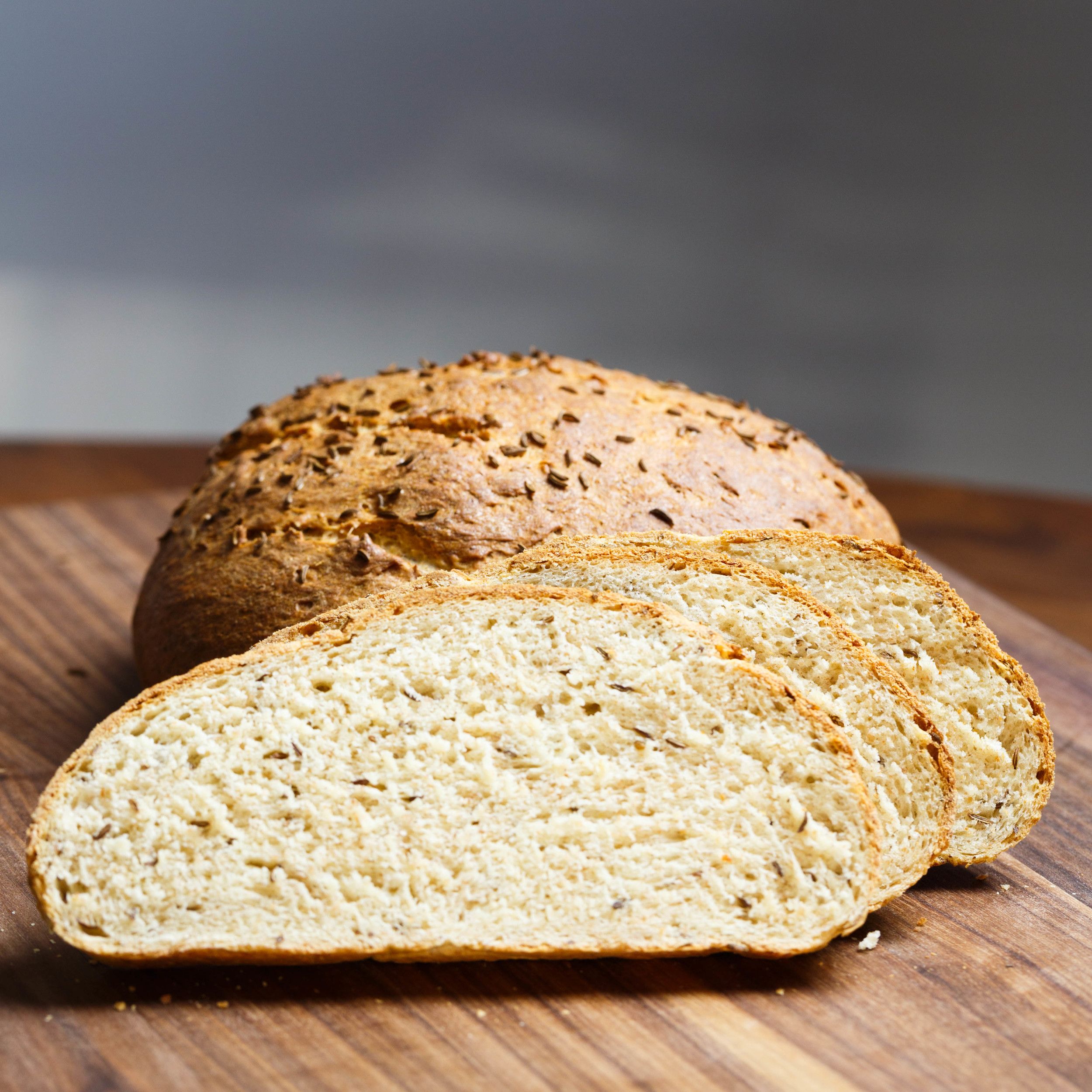 Surbrød - Bread with Caraway Seeds