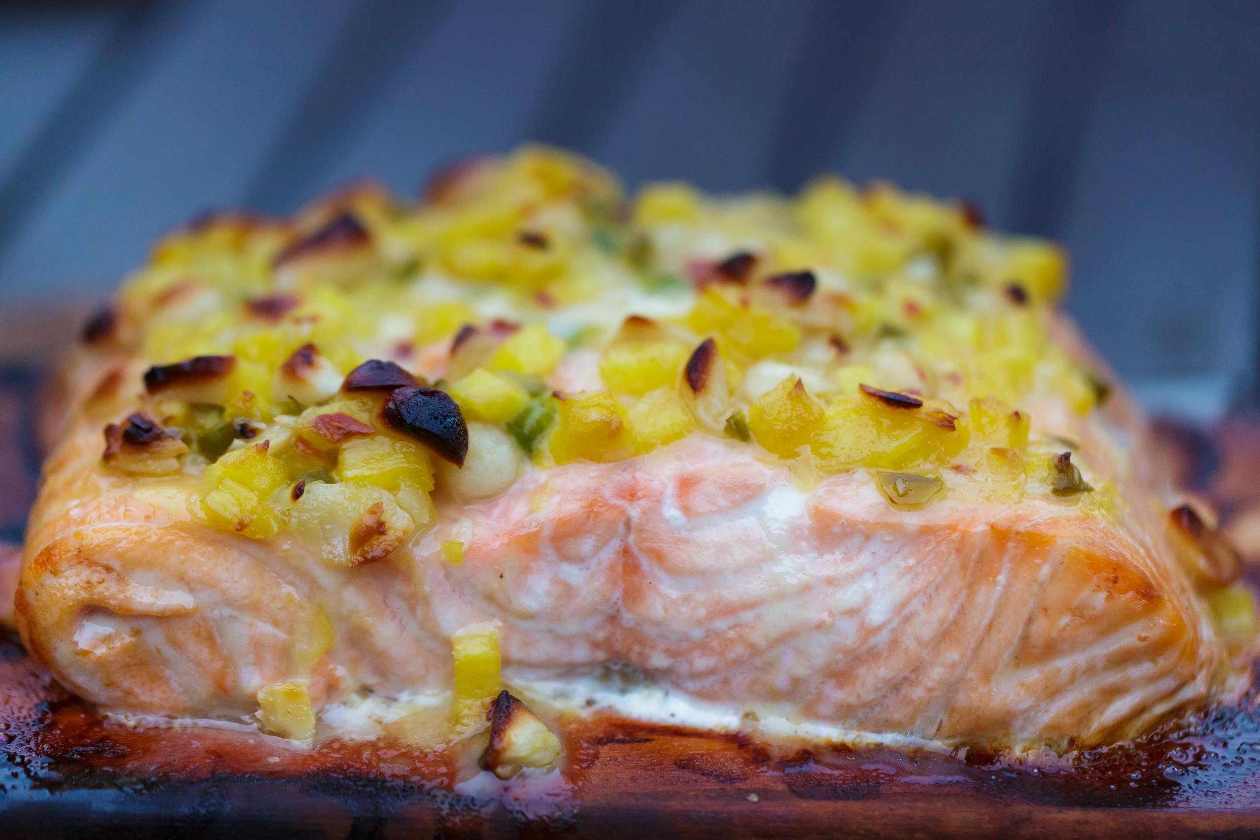 Maple Plank Salmon