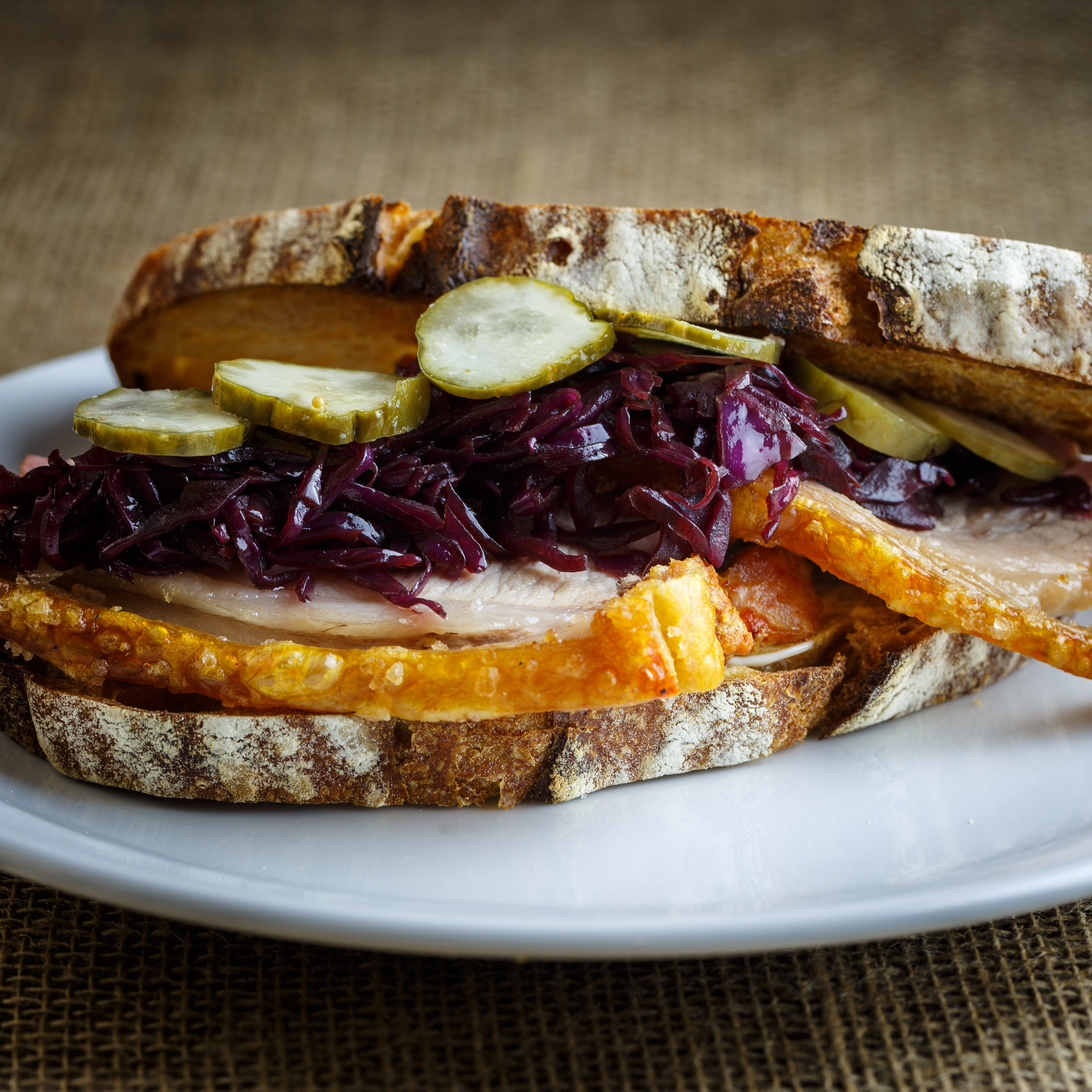Pork Roast Sandwich - Flæskestegssandwich