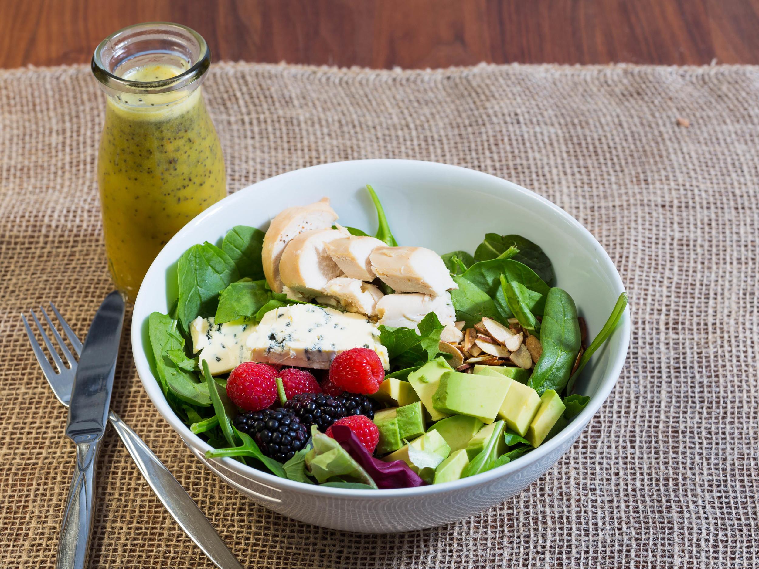 Salad with Orange and Poppyseed Dressing