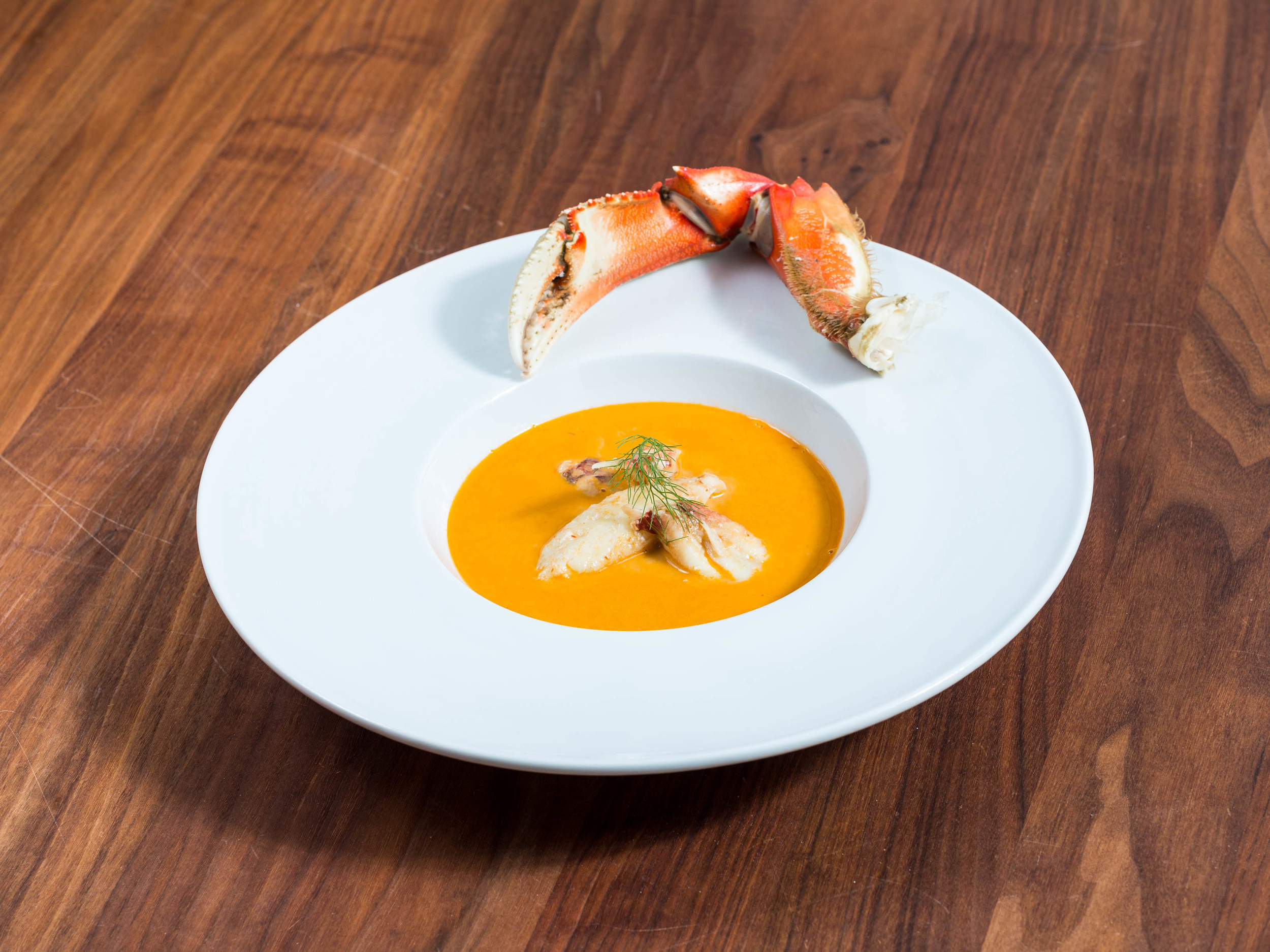 Dungeness Crab Soup