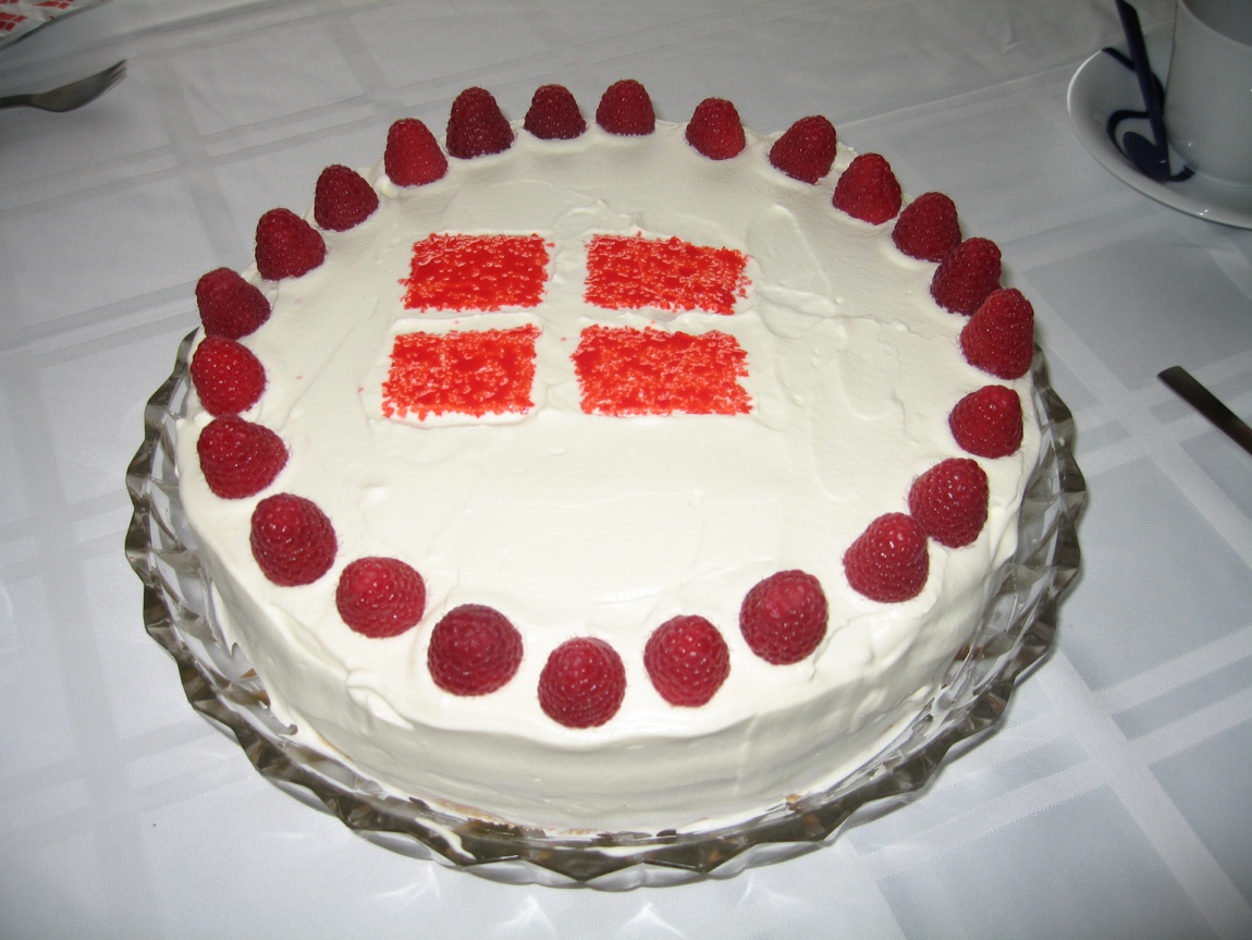Classic Danish Layer cake