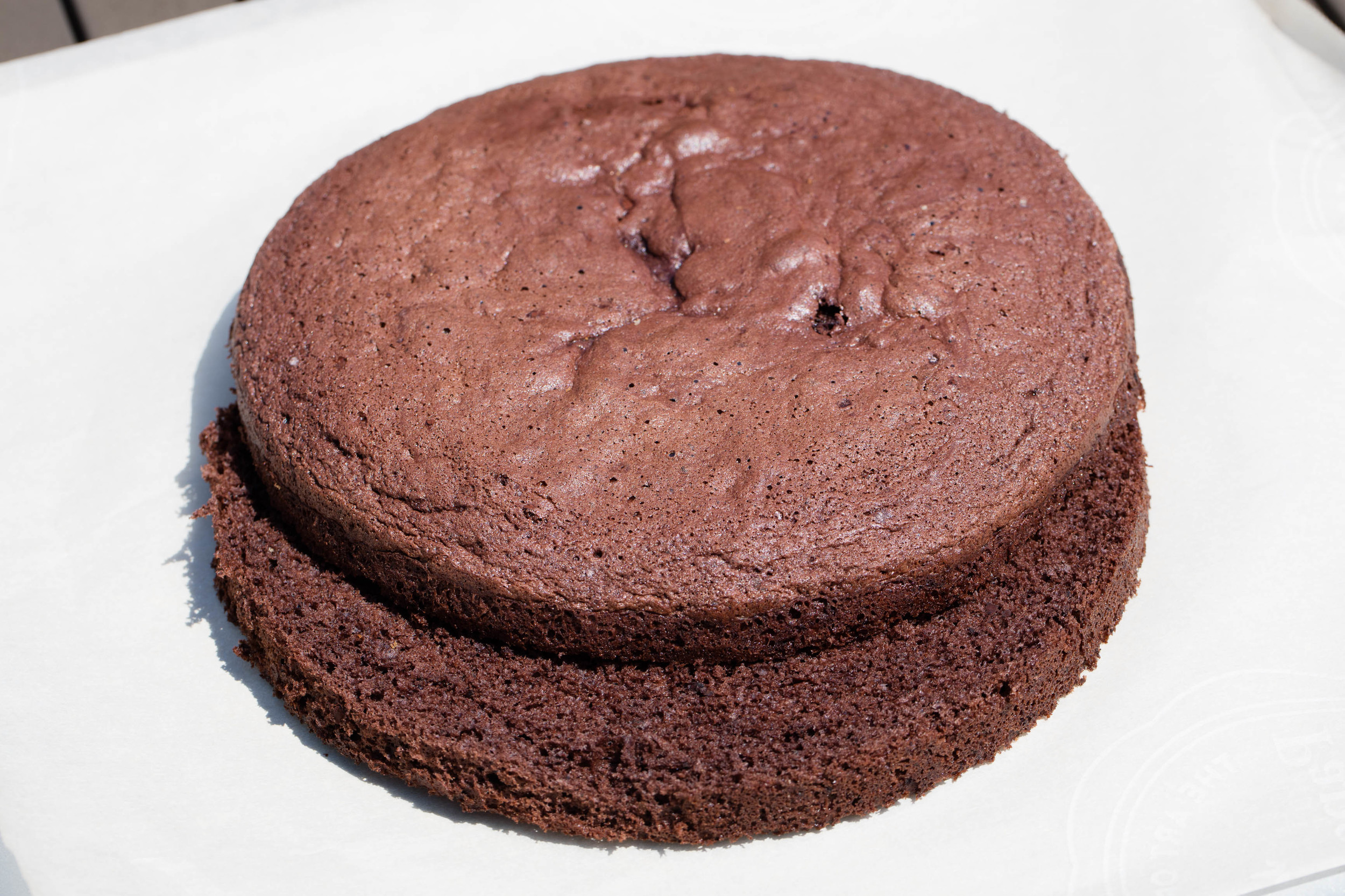 Chokoladelagkagebunde - Chocolate Cake