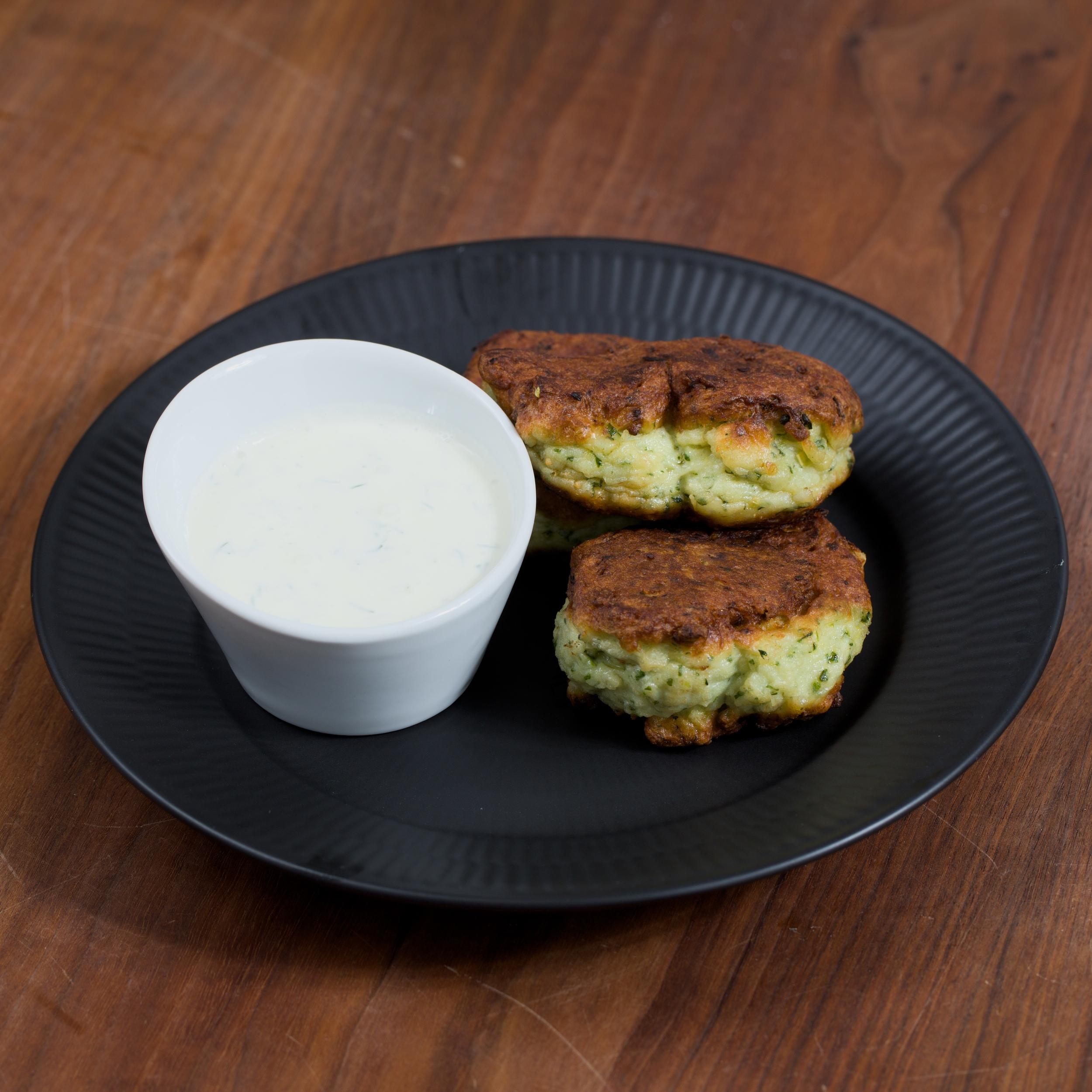 Green Fish Cakes - Grønne Fiskefrikadeller