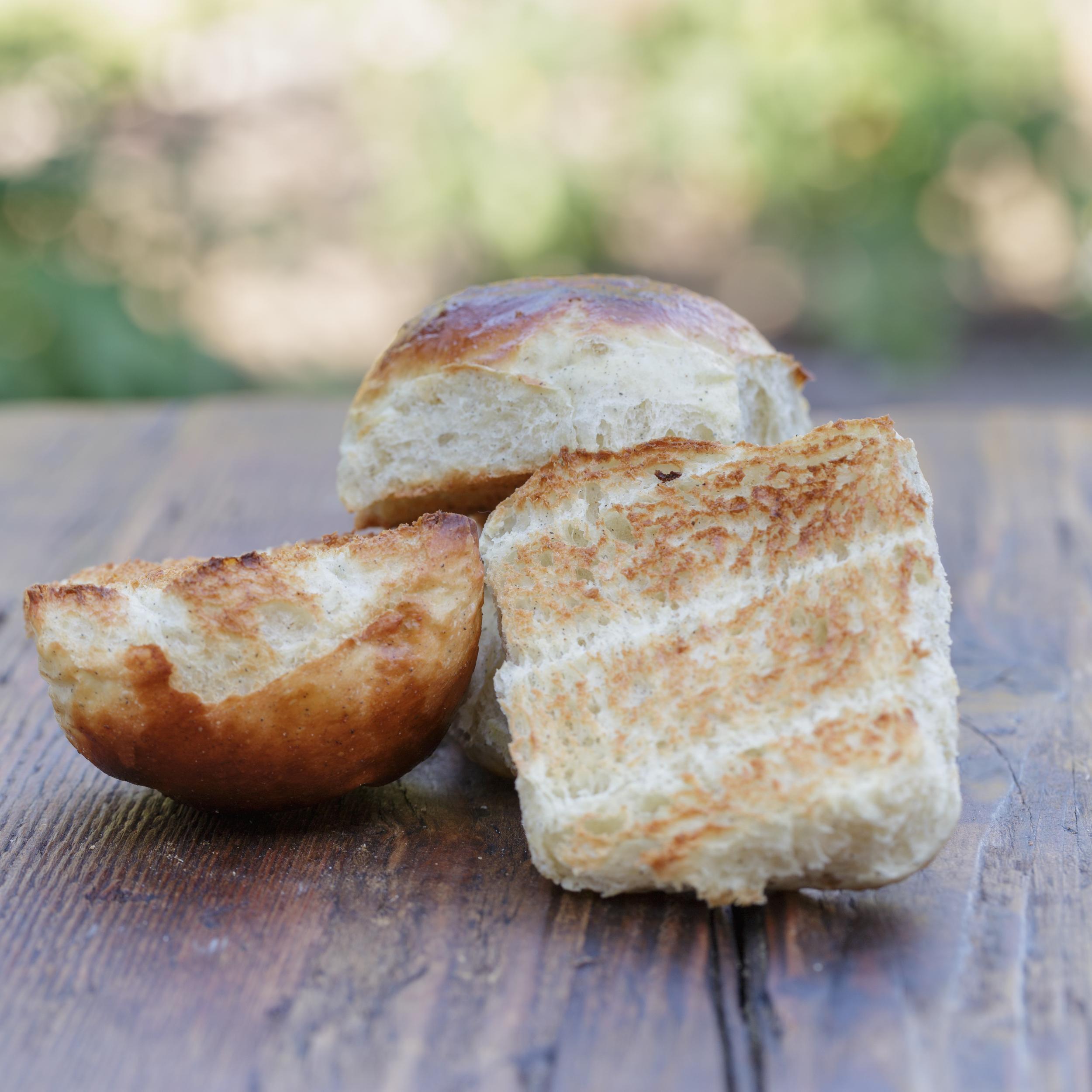 Toasted rolls - ristede hvedeknopper