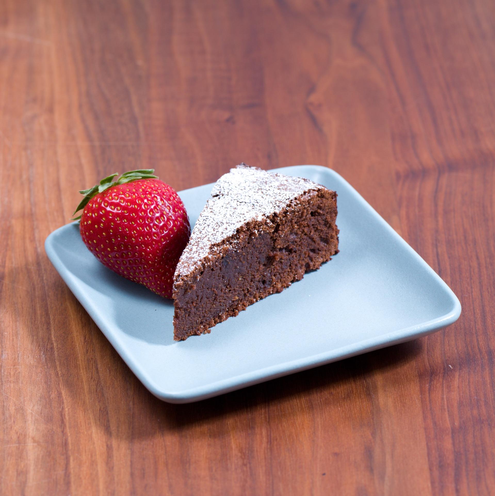 Chocolate Mazarin Cake