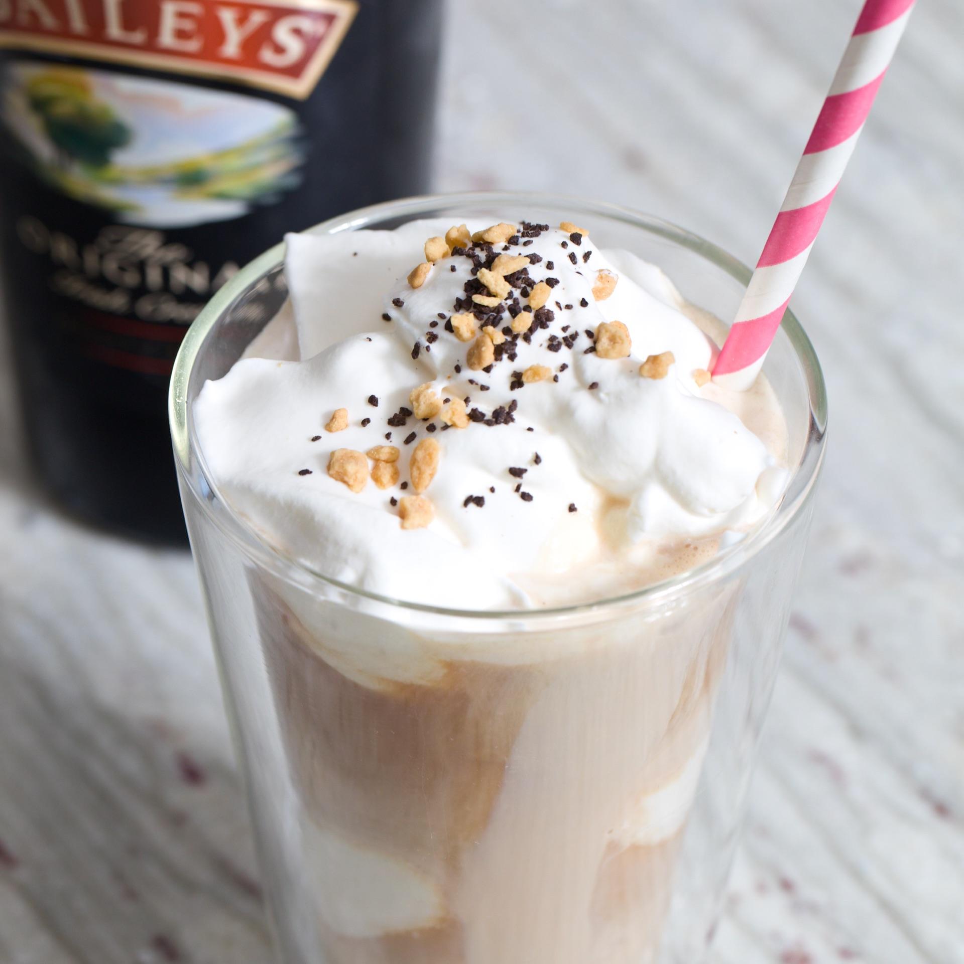 Coffee Baileys Float