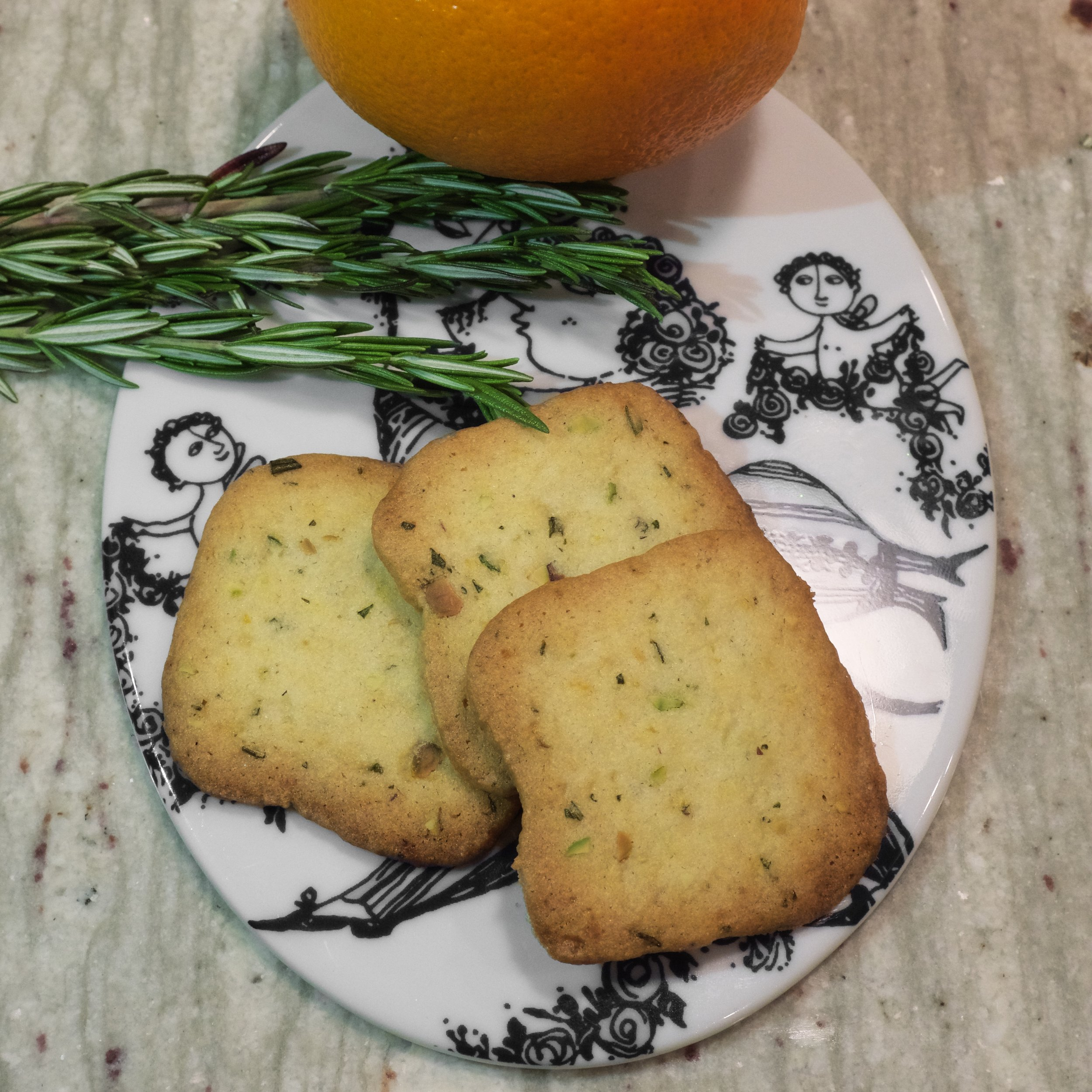 Italian Rosemary Cookies