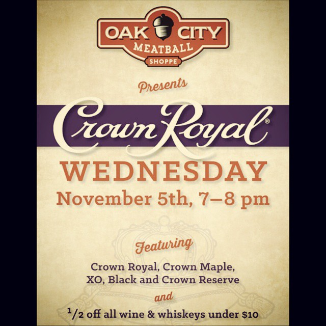 We're sweetening the deal! Over 30 whiskeys half off, plus the entire Crown Royal family on special. Promo Girls and swag, too! #howdoyouball