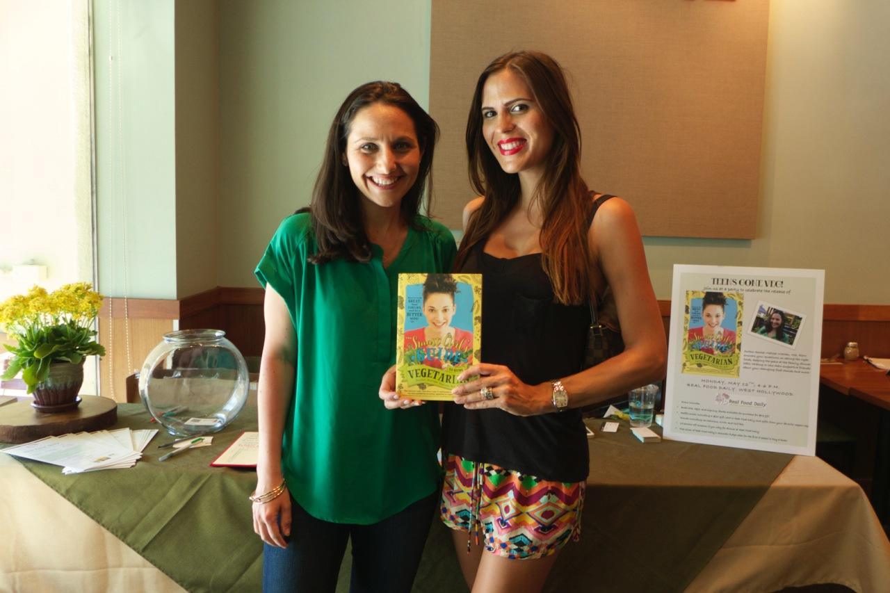 Rachel with  Organic Food Daily  blogger Kristine Kelly