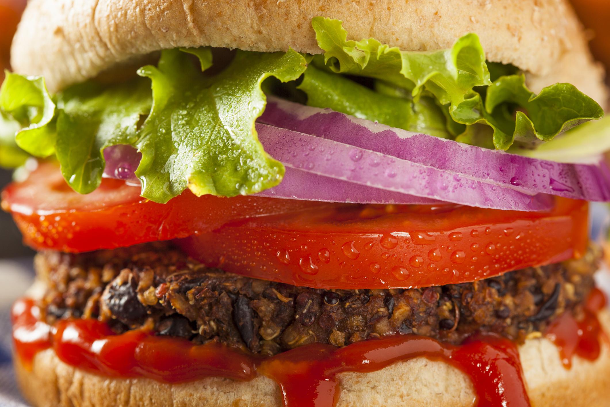 © Bhofack2 | Dreamstime.com - Homemade Healthy Vegetarian Quinoa Burger Photo