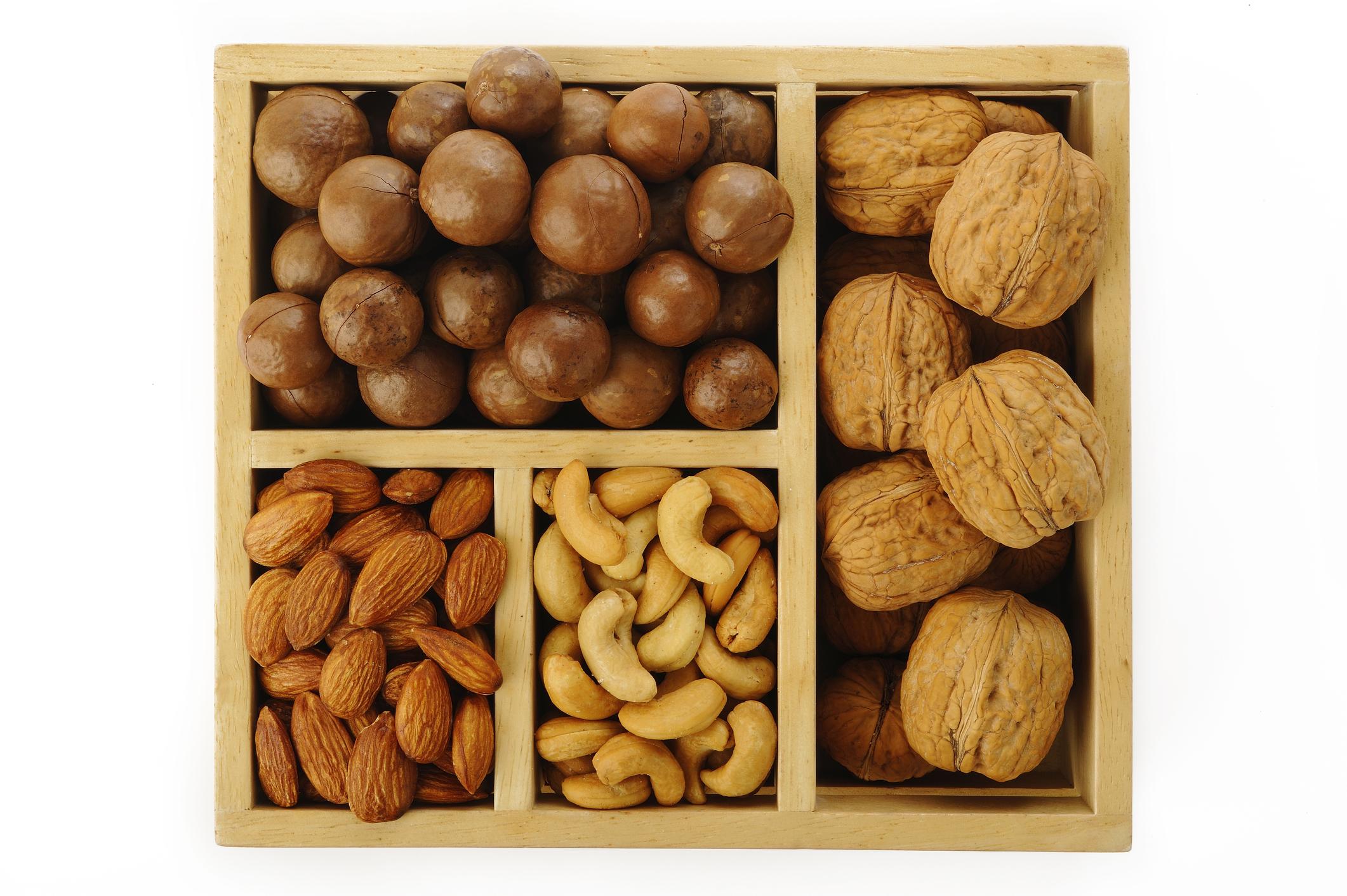 © Phloenphoto   Dreamstime.com - Assorted Nuts Photo