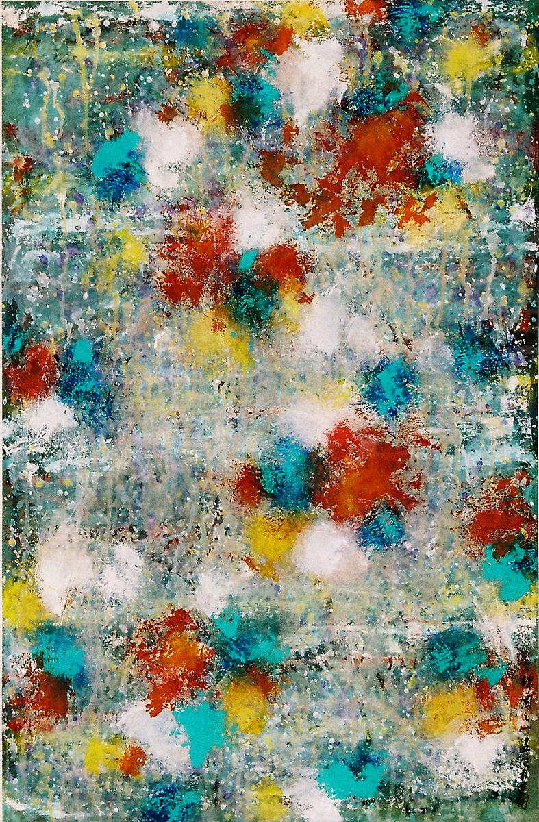 錦園之一 95 x 63 cm  2005 墨彩紙本