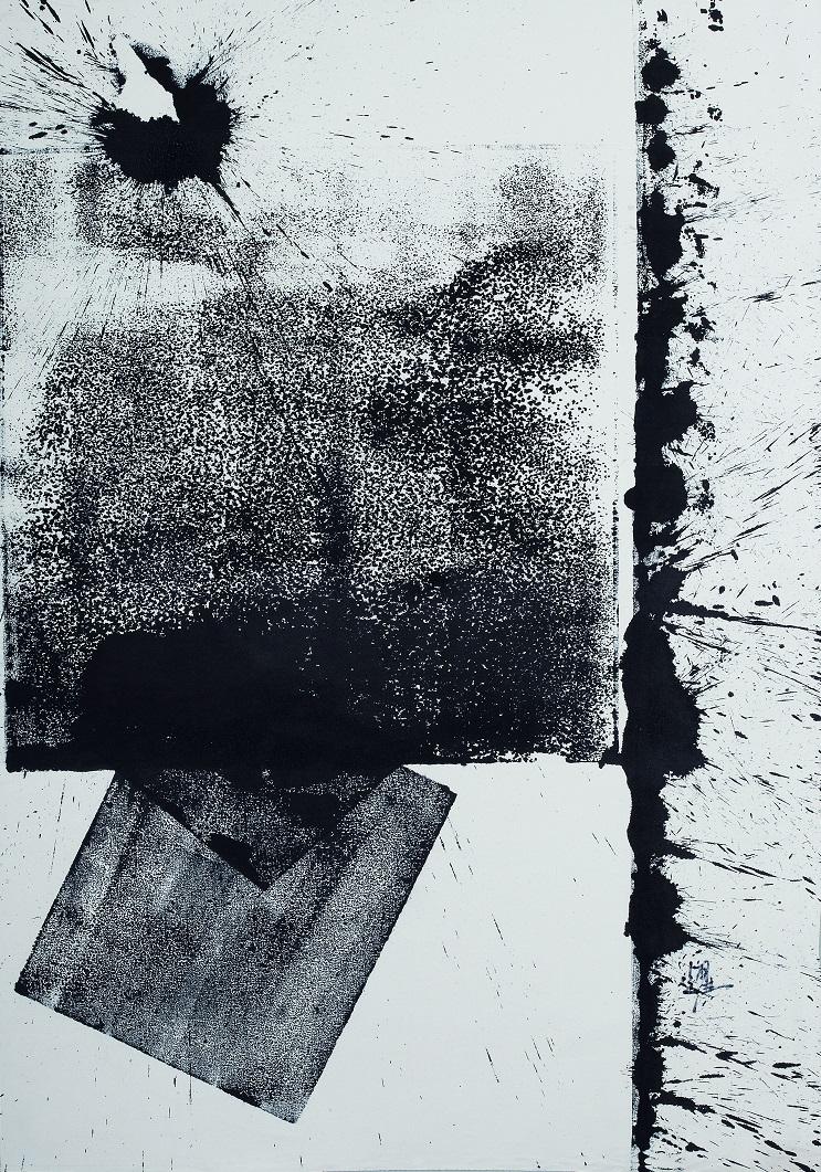秦磚漢瓦 115 x 81cm 油彩畫布