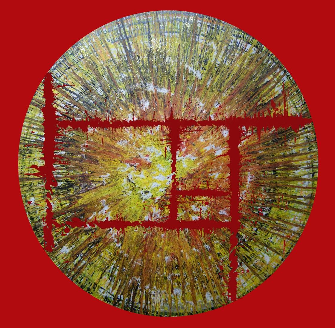 靈之窗 110 x 110.5cm 油彩畫布