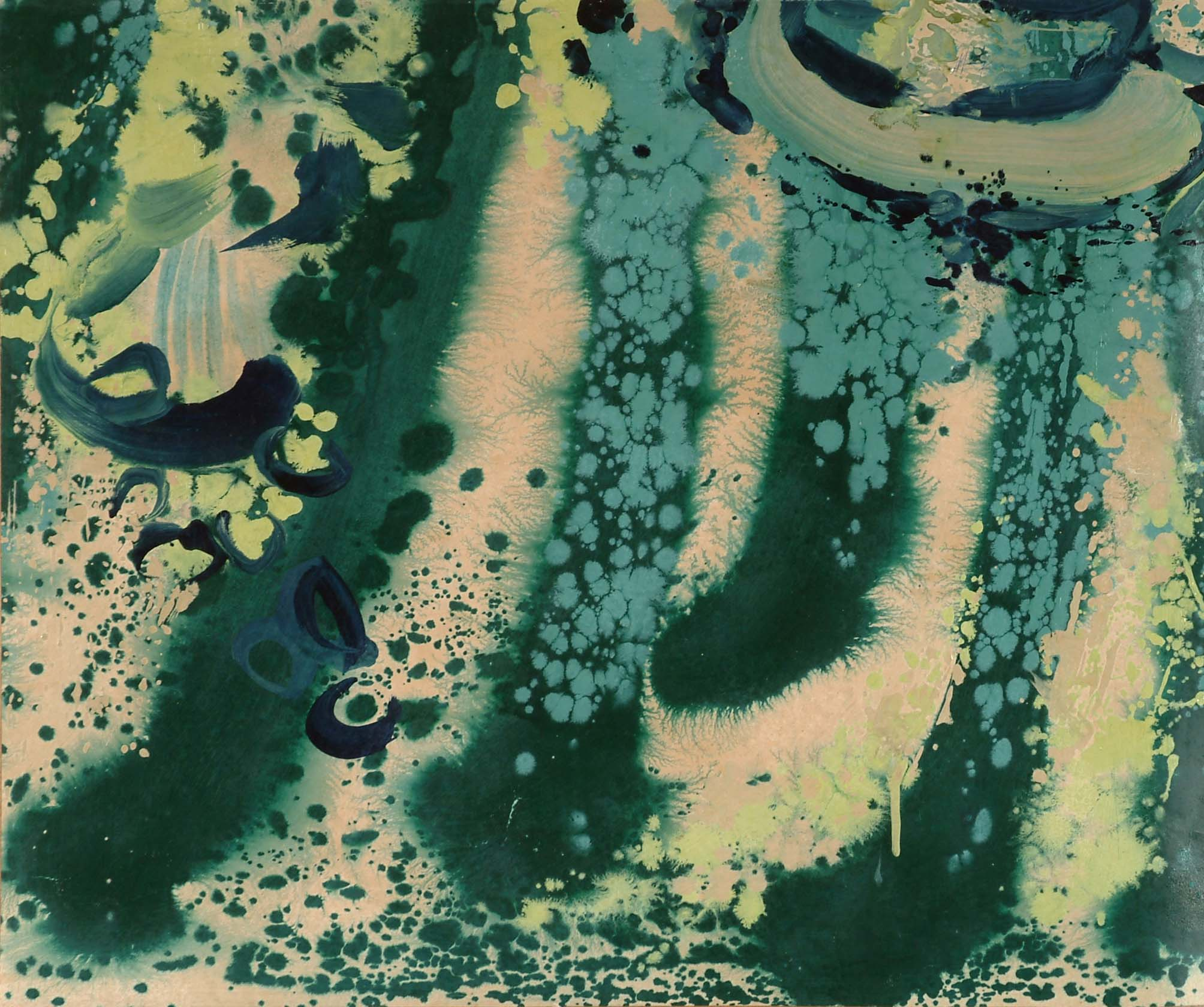 蔭  62x74 cm 油畫  1973