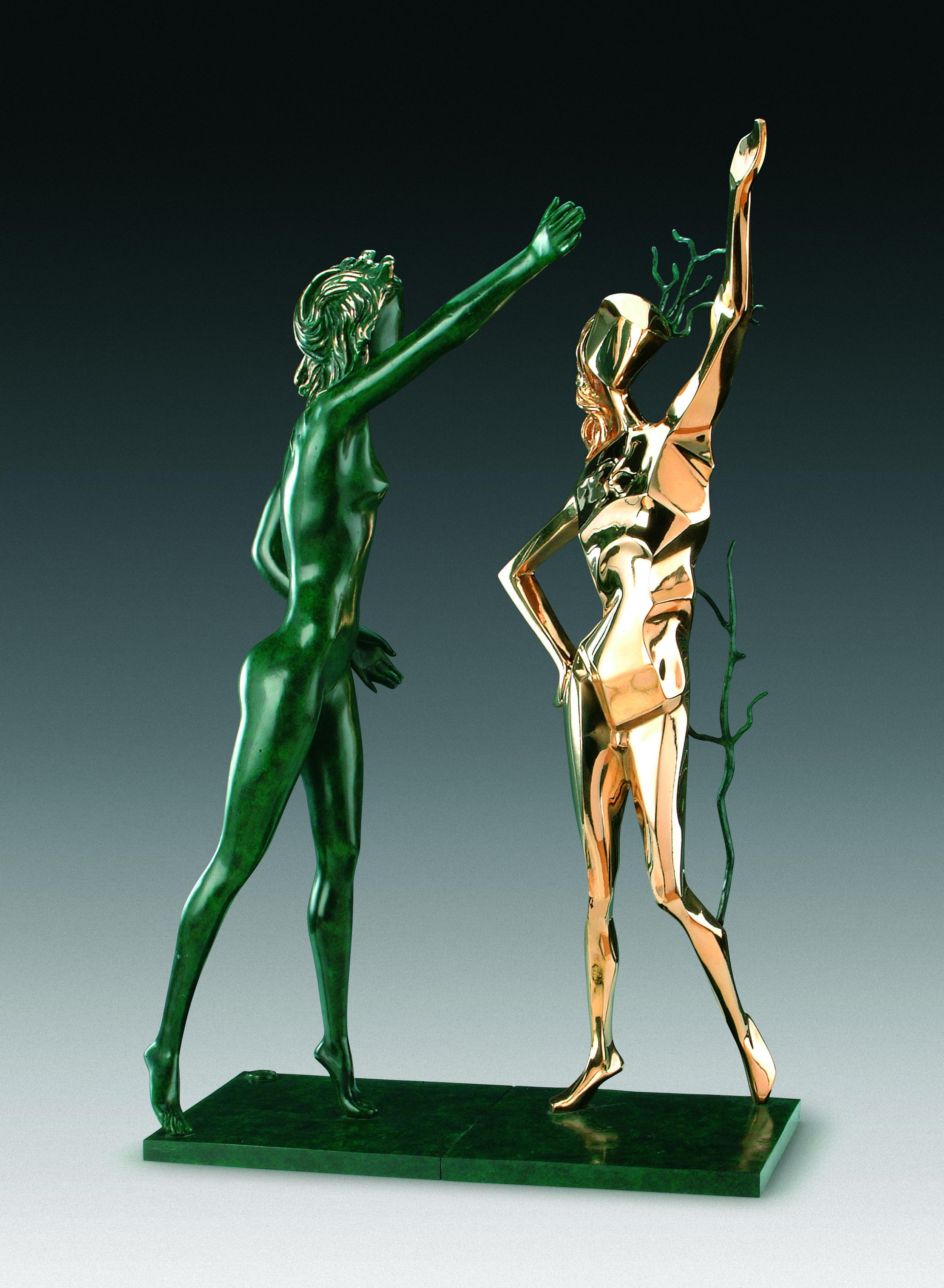 向歌舞女神致敬   70.5 cm  銅