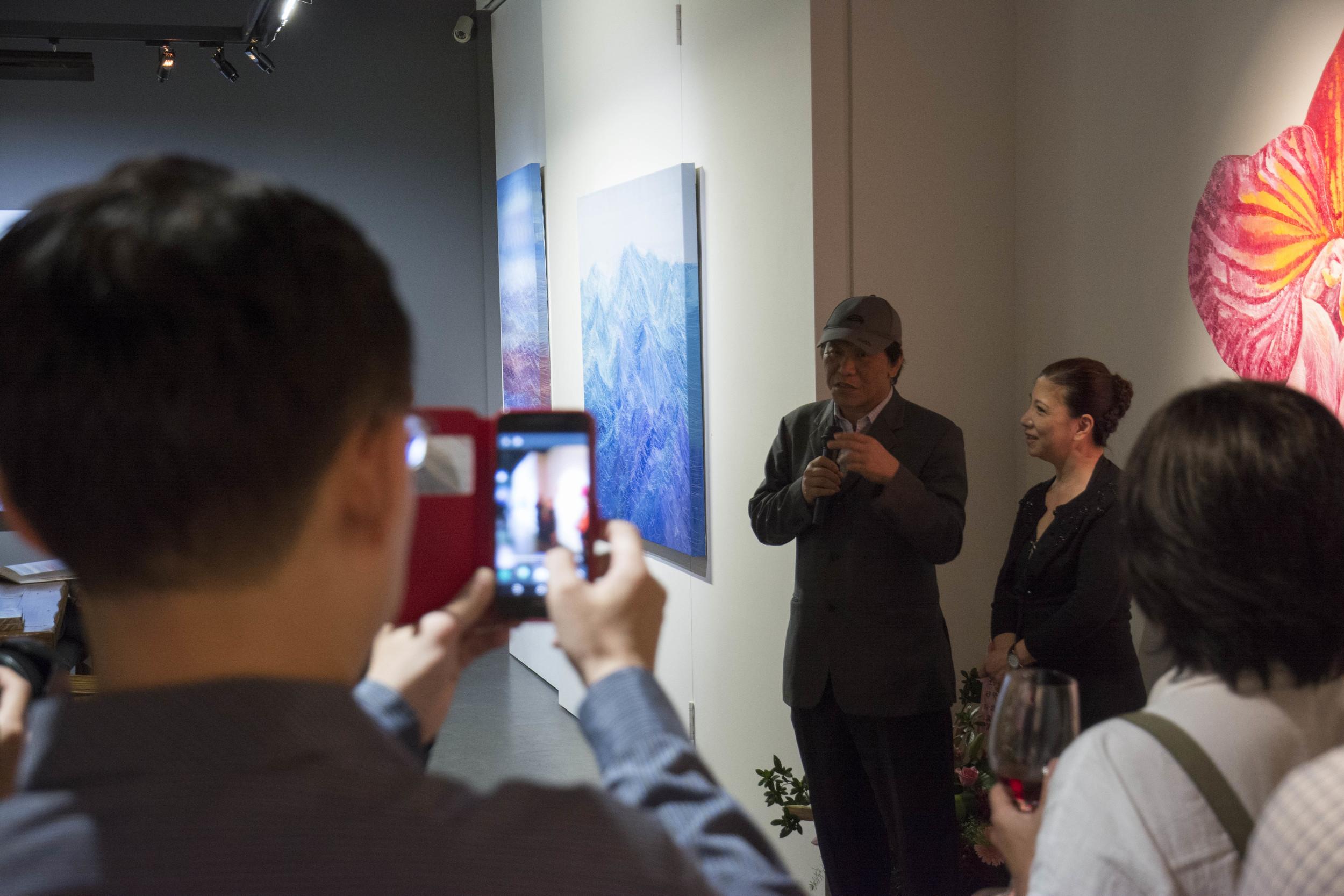 台北當代藝術館館長石瑞仁先生