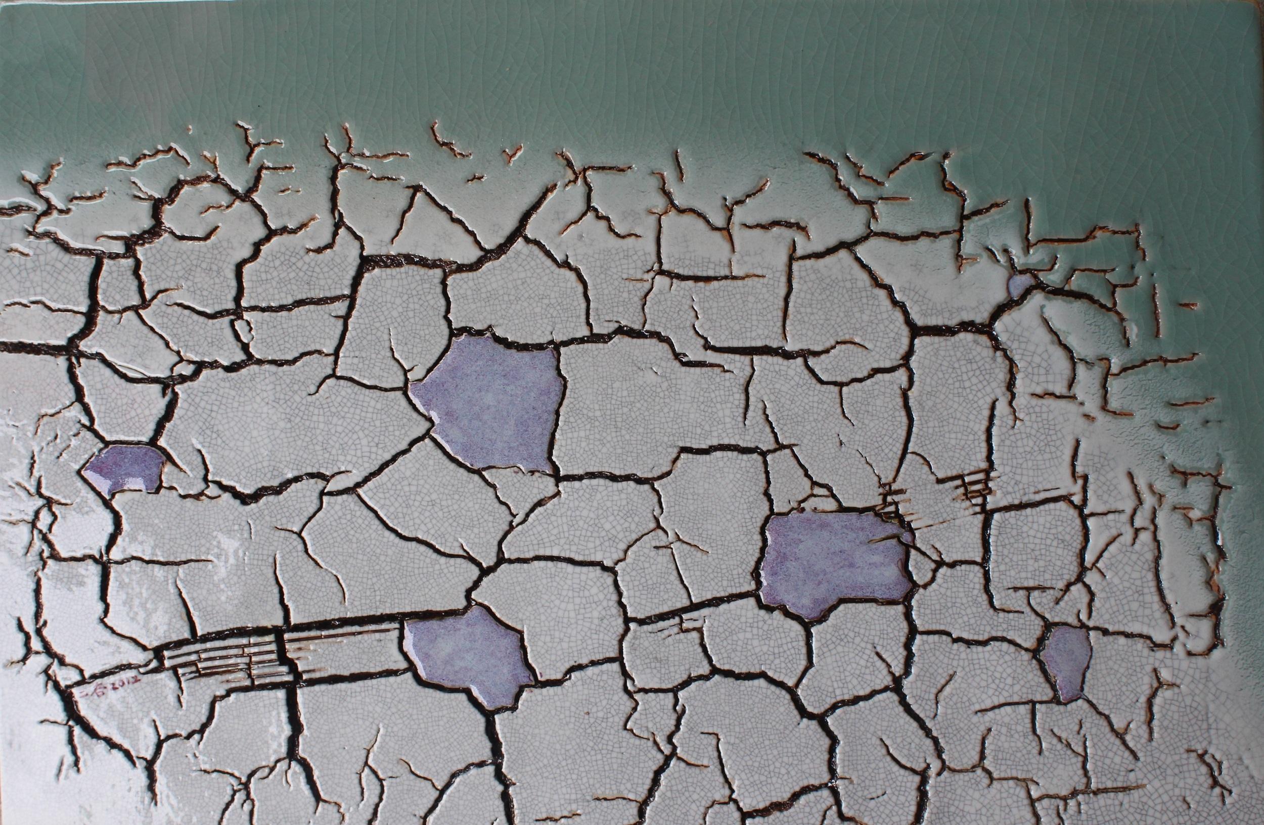 林振龍  大地瓷板