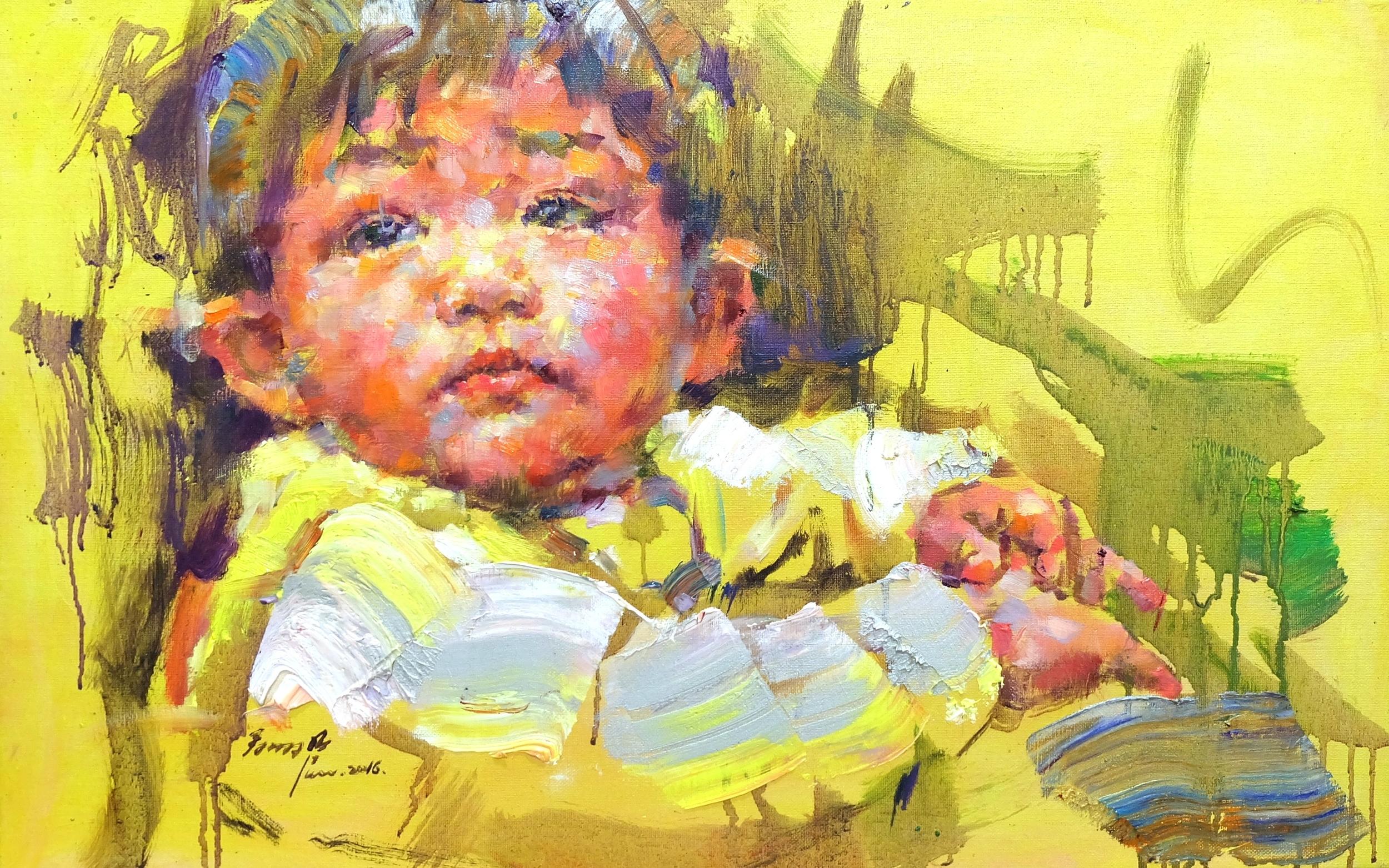 翁明哲 黃色小孩
