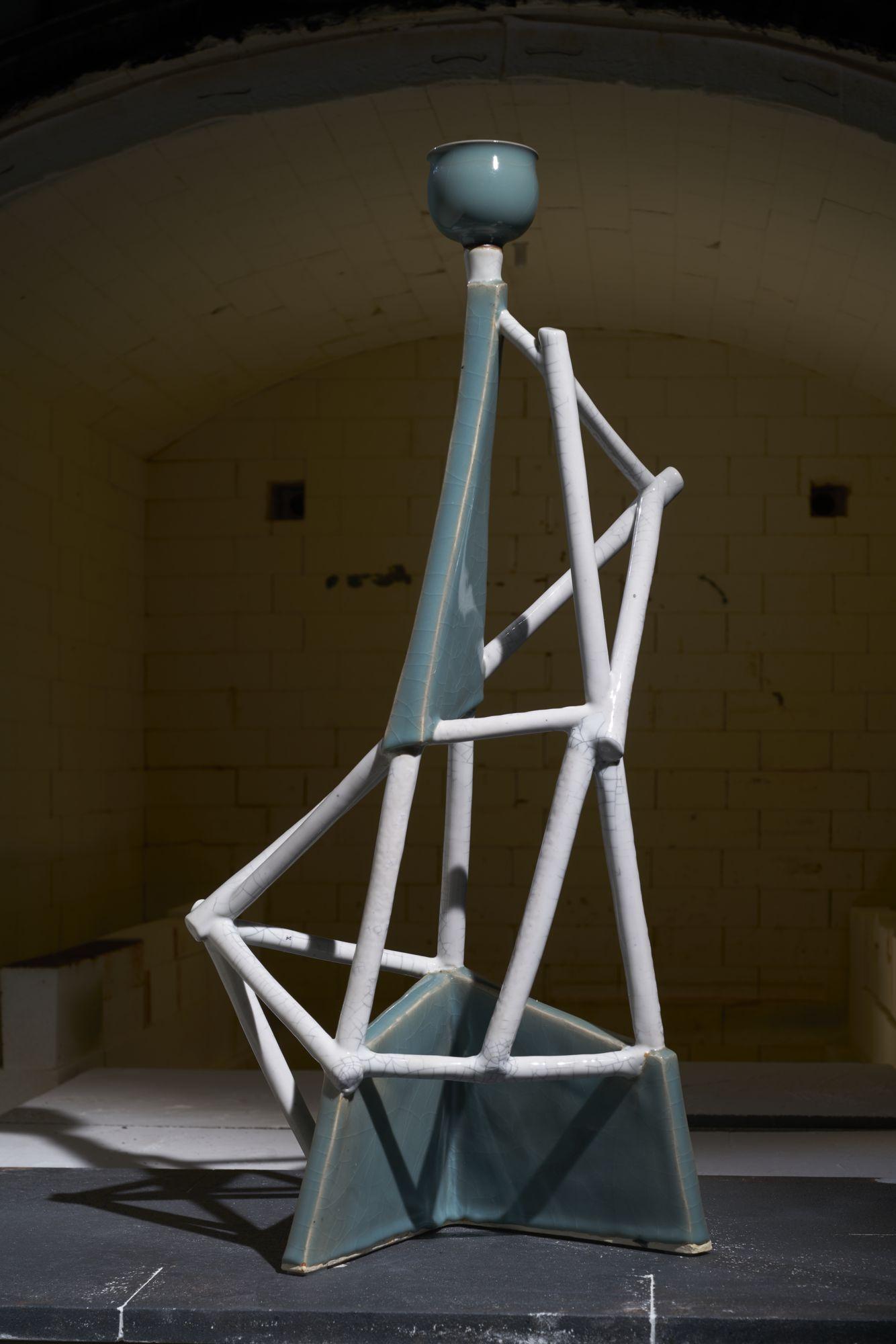 林振龍 空間釉彩系列 32×21×69cm 2018 陶瓷