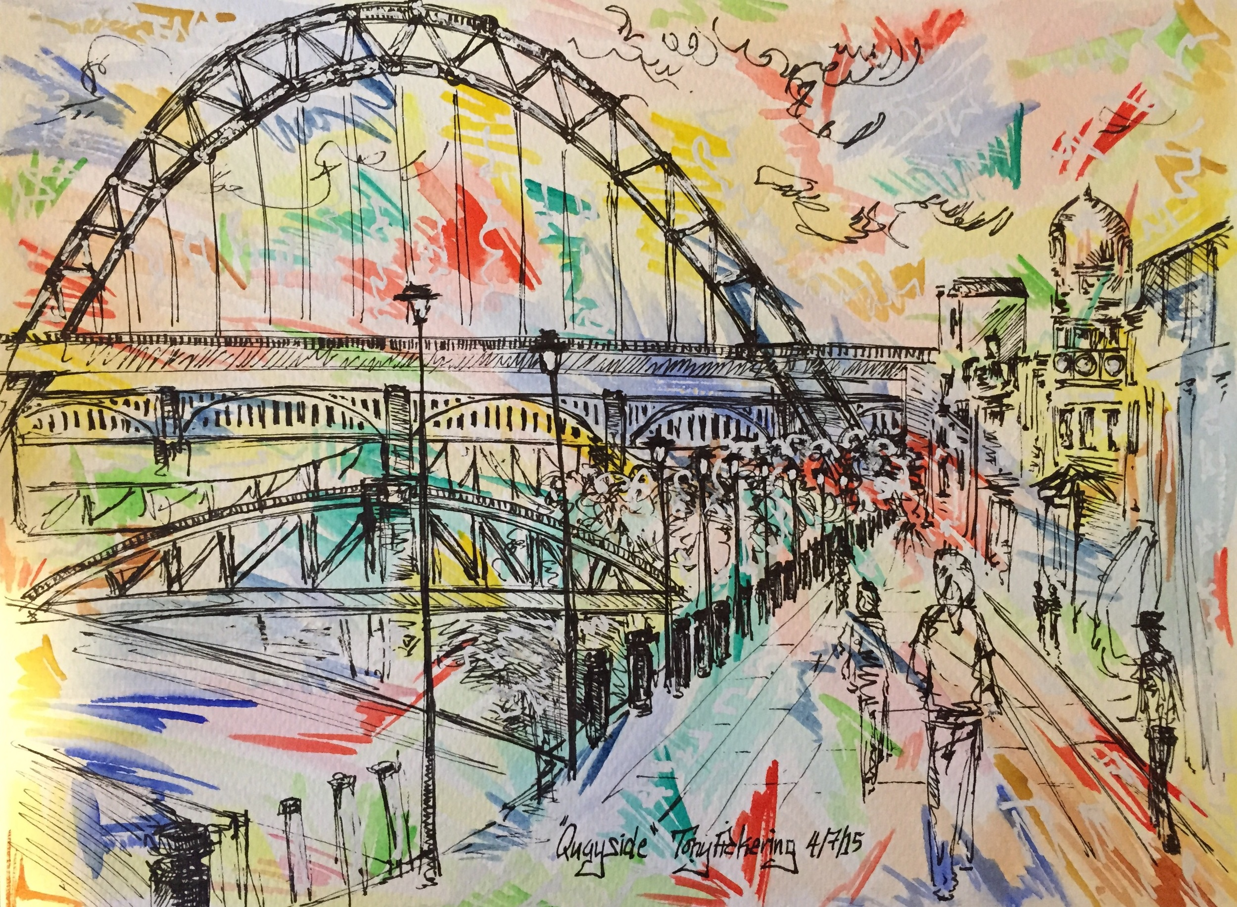 """""""Quayside"""" - just sold."""