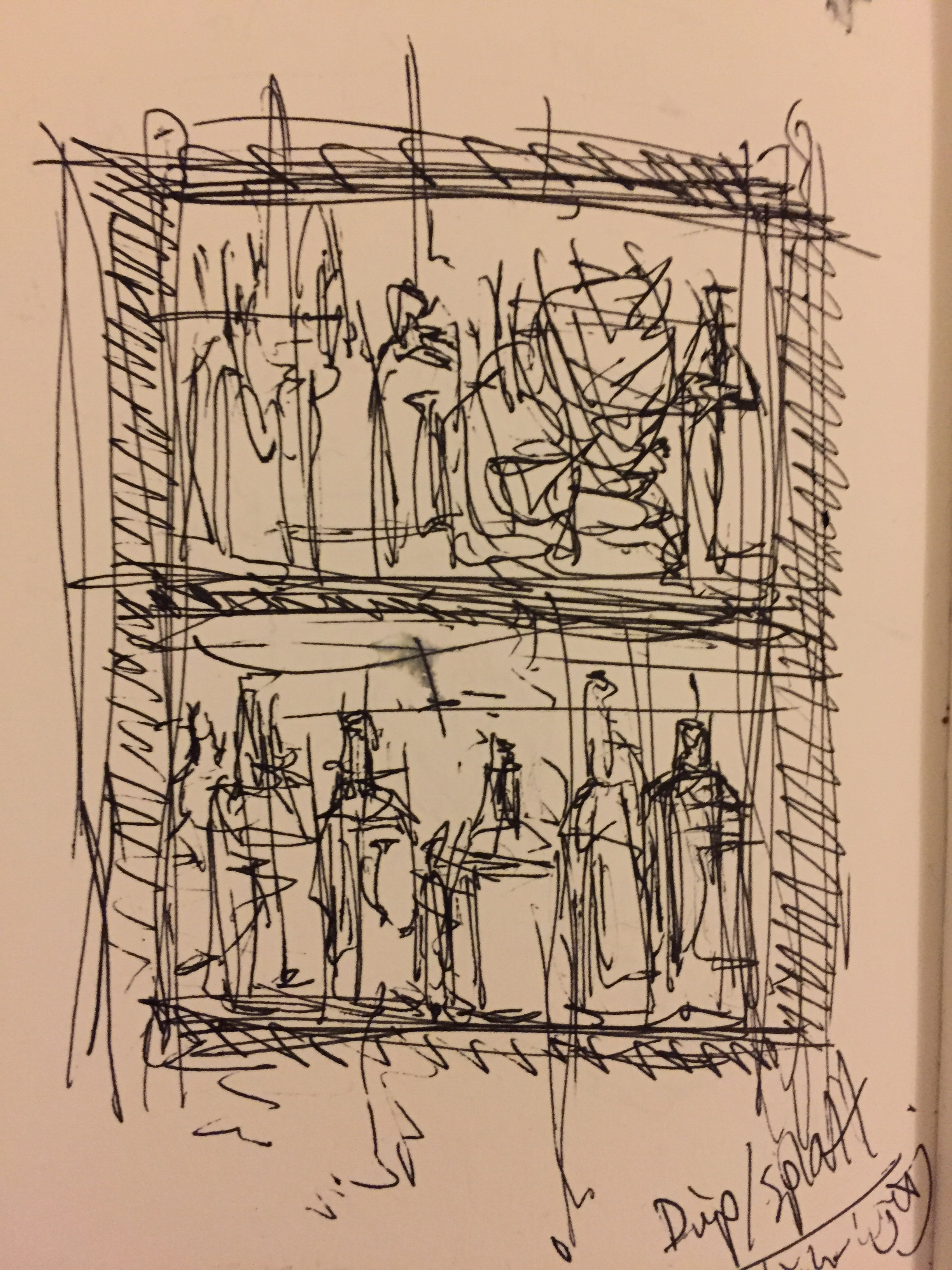 Composition sketch.