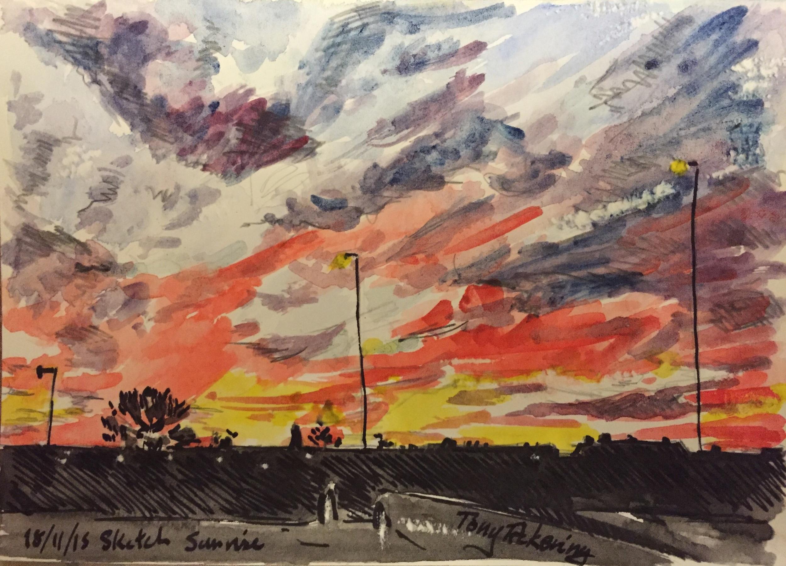 """Sunrise sketch""."
