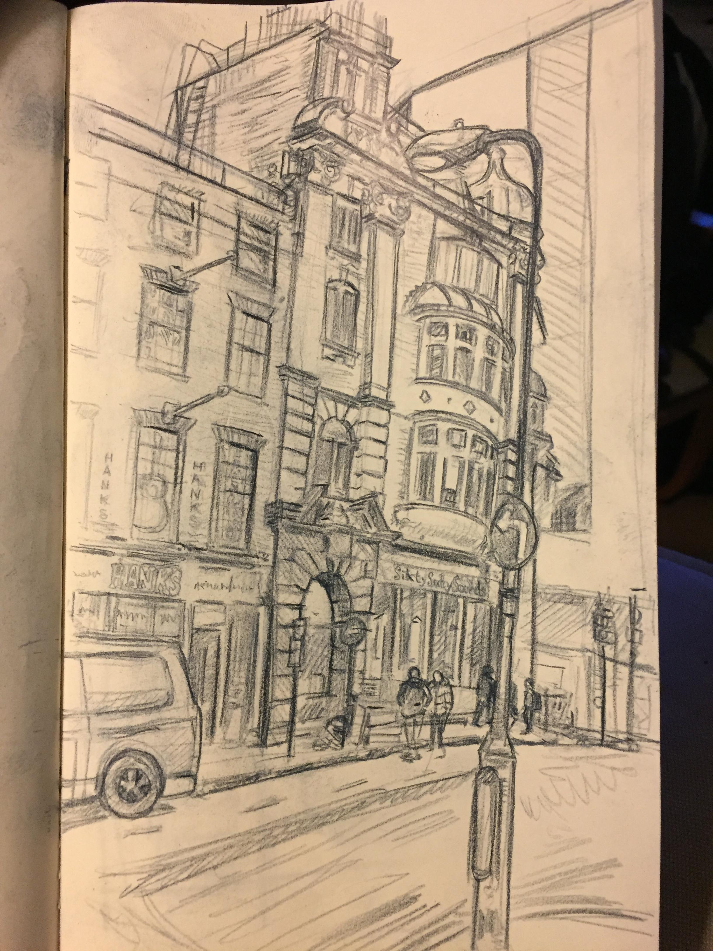 fig.3 Denmark Street