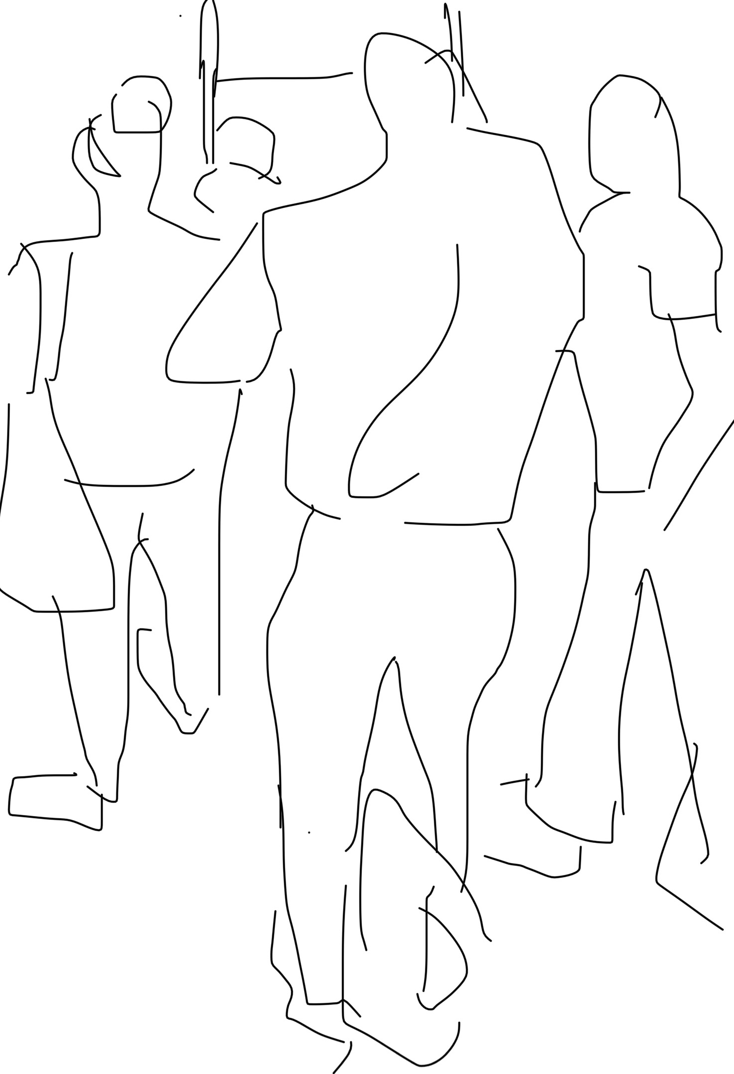 fig.2:    Commuters
