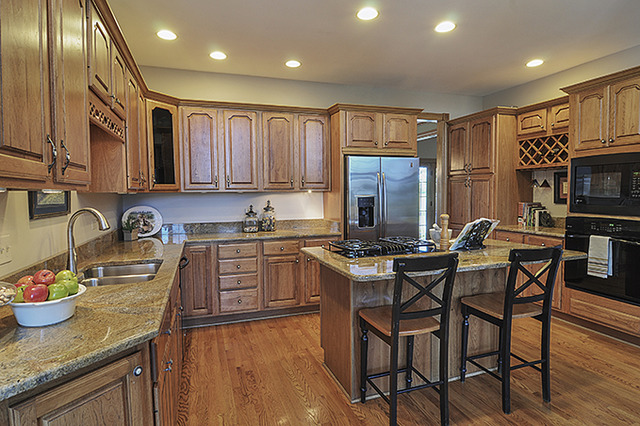 Kitchen AFTER Professional Home Staging
