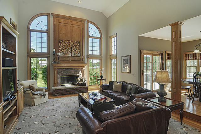 Family Room AFTER Professional Home Staging