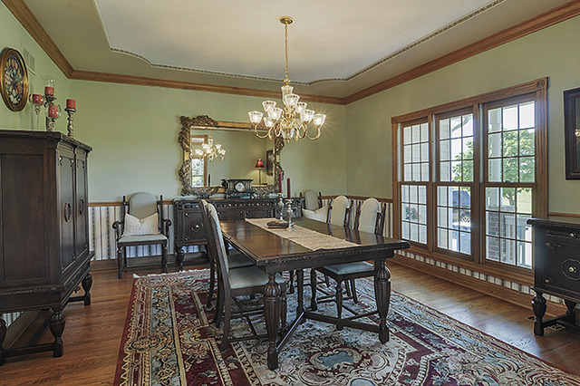 Dining Room AFTER Professional Staging