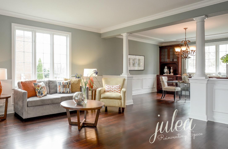 Lemont, IL - Living Room