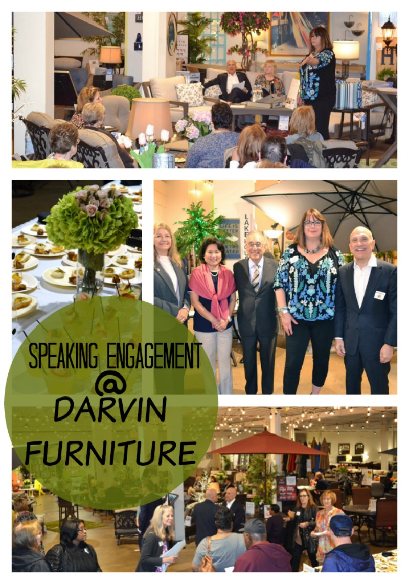 Speaking Engagement: Outdoor Spaces Workshop at Darvin Furniture in Orland Park, Illinois