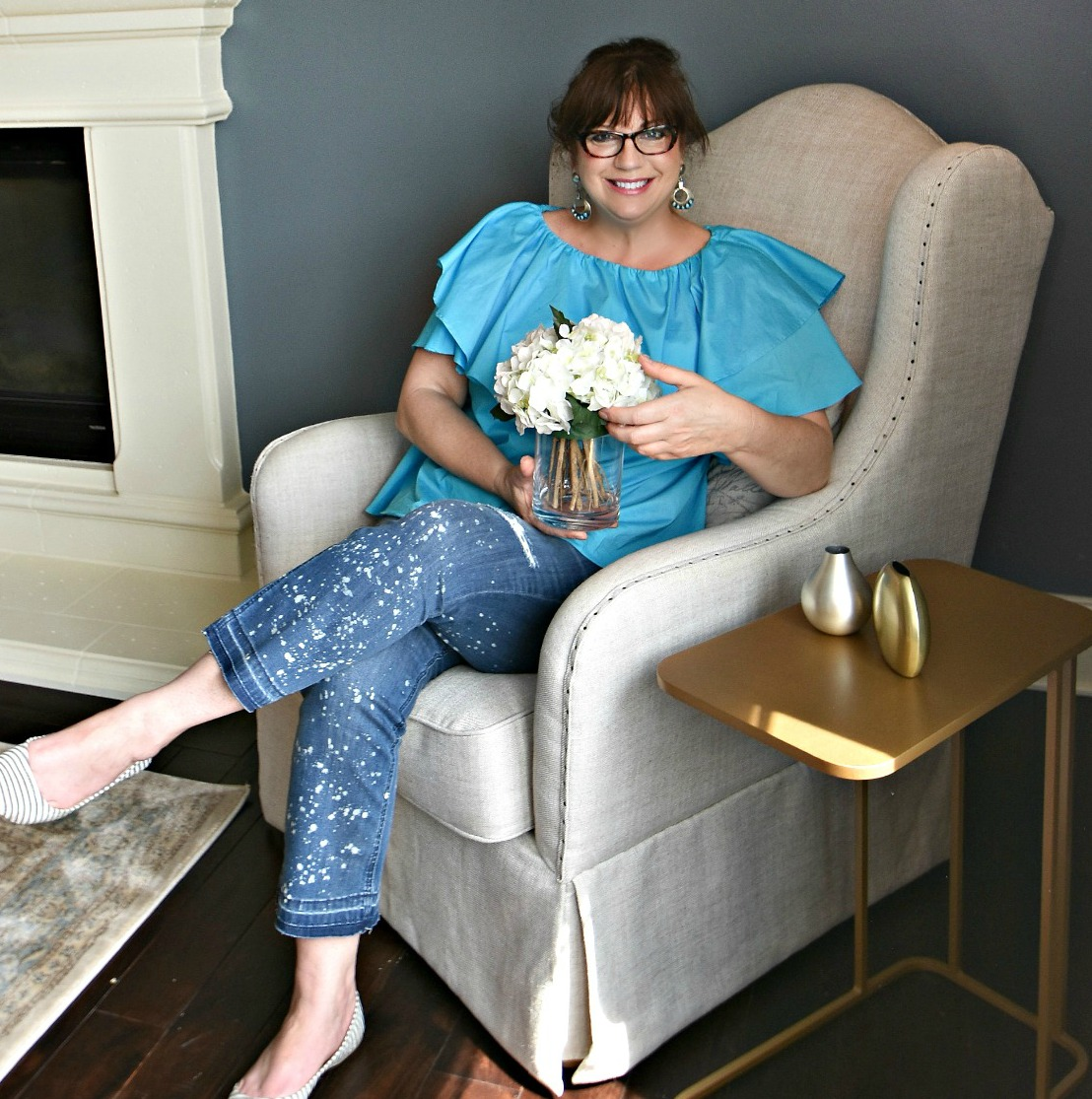 Julea Joseph, Lead stylist and owner of Reinventing Space & House Stager.