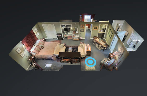 Take a 3D Walkthrough Tour of  Captains Quarters  provided by  Kerry Woo Photography .
