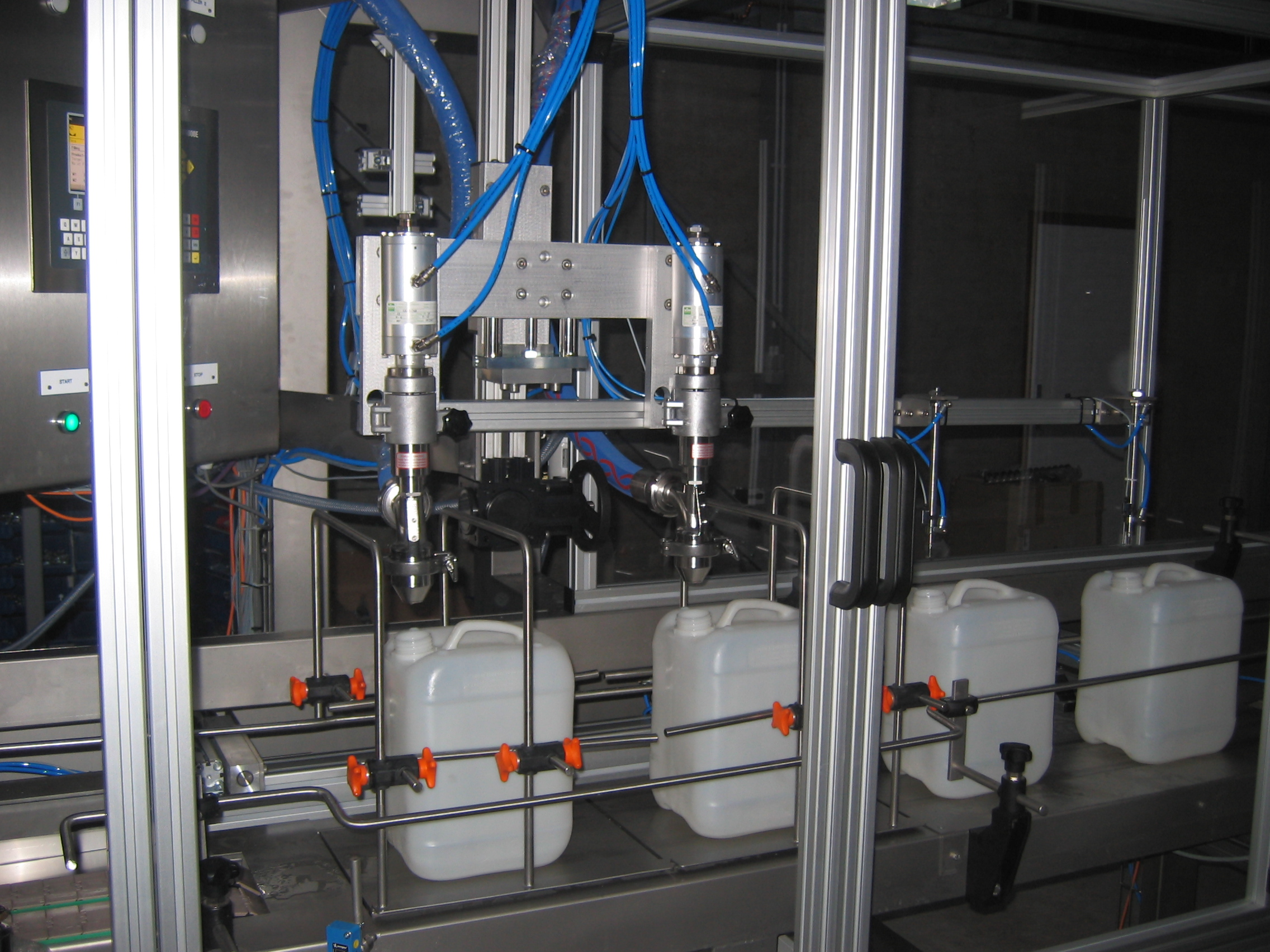 Full automatic can filling line