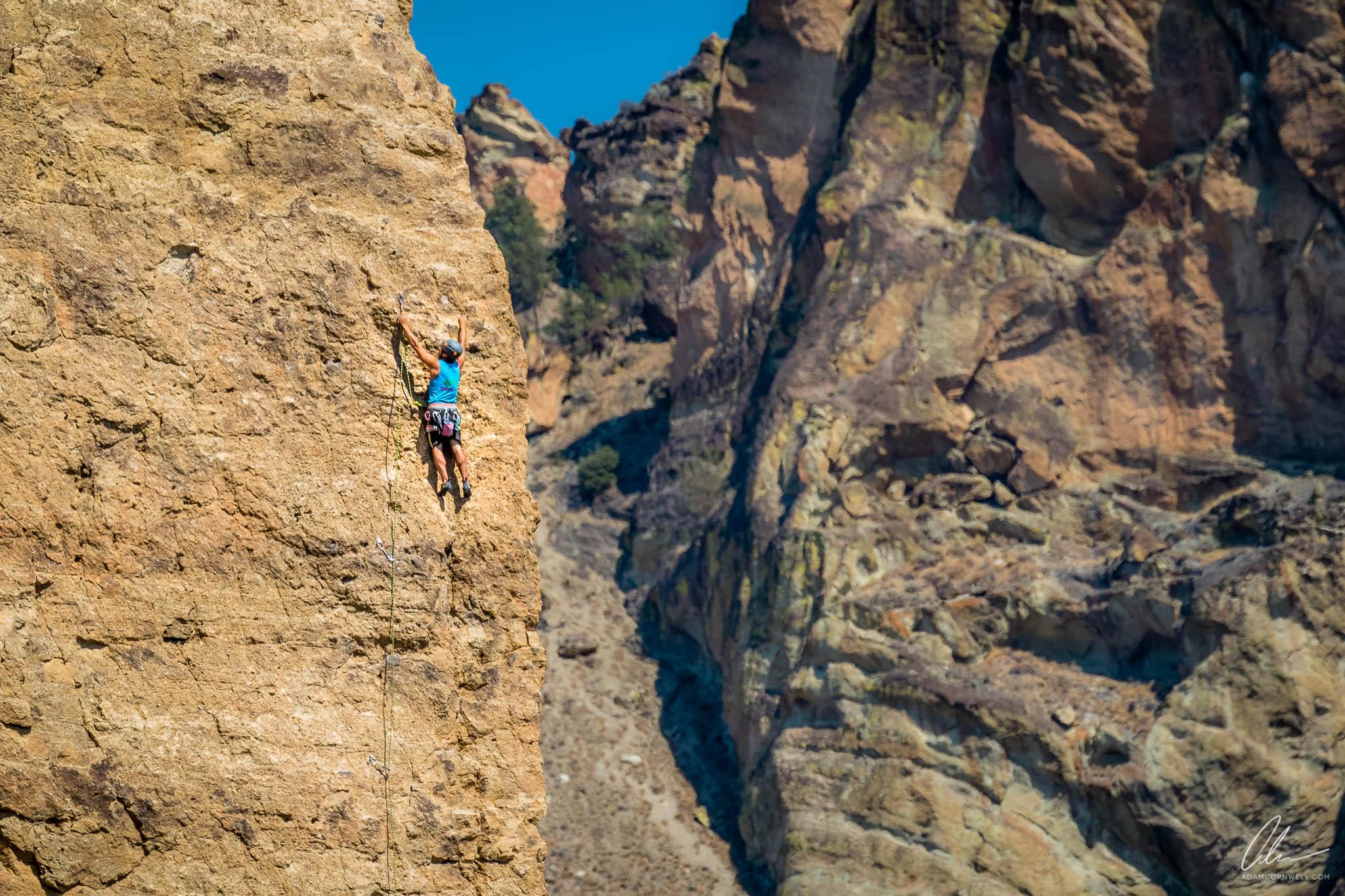 Climbing at Smith Rock