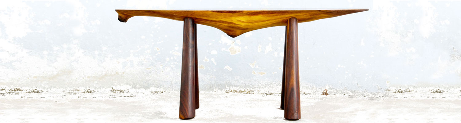 Bench Story  I Furniture series made using all parts of a Sheesham tree [Indian Rosewood]