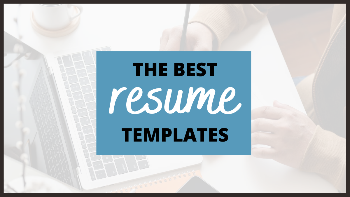 The Best Resume Templates And Tools To Start Your Job Search Careercloud