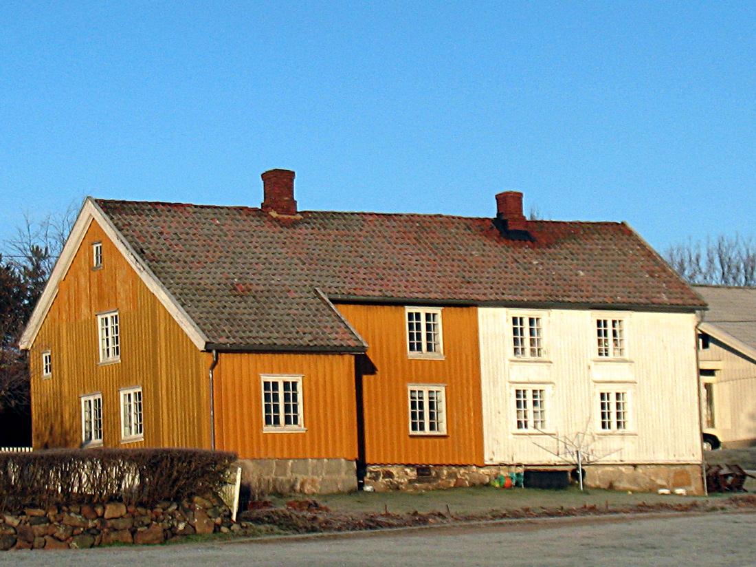 Museet Hans Nielsen Hauges minde på Hauge,Rolvsøy i Fredrikstad. Foto: Siri Johannessen