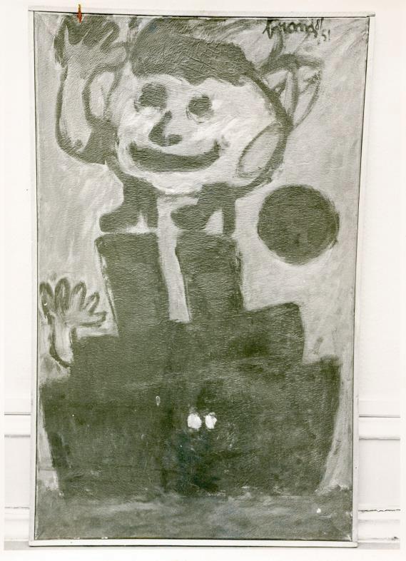 COBRA-utstilling i 1968. Eugene Brands «Demon of Shipwrecks». ©Punkt Ø