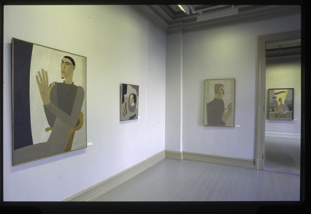 Charlotte Wankel (1888-1969) Retrospektiv i 1997. ©Punkt Ø