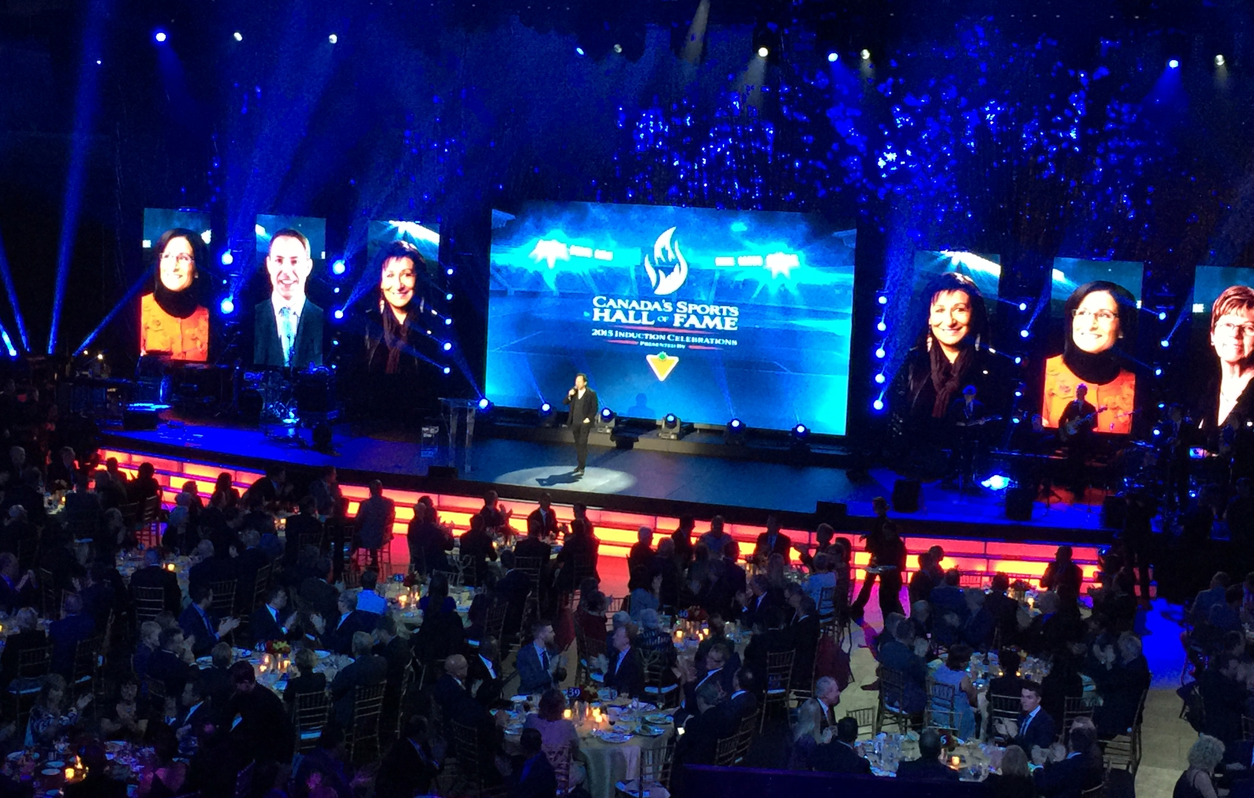 Canadian Sports Hall of Fame Gala, 2015
