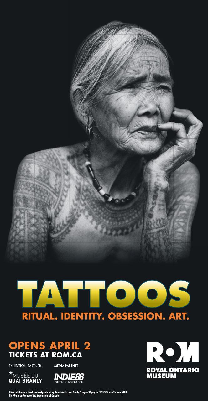 ROM 'Tattoos' print ad